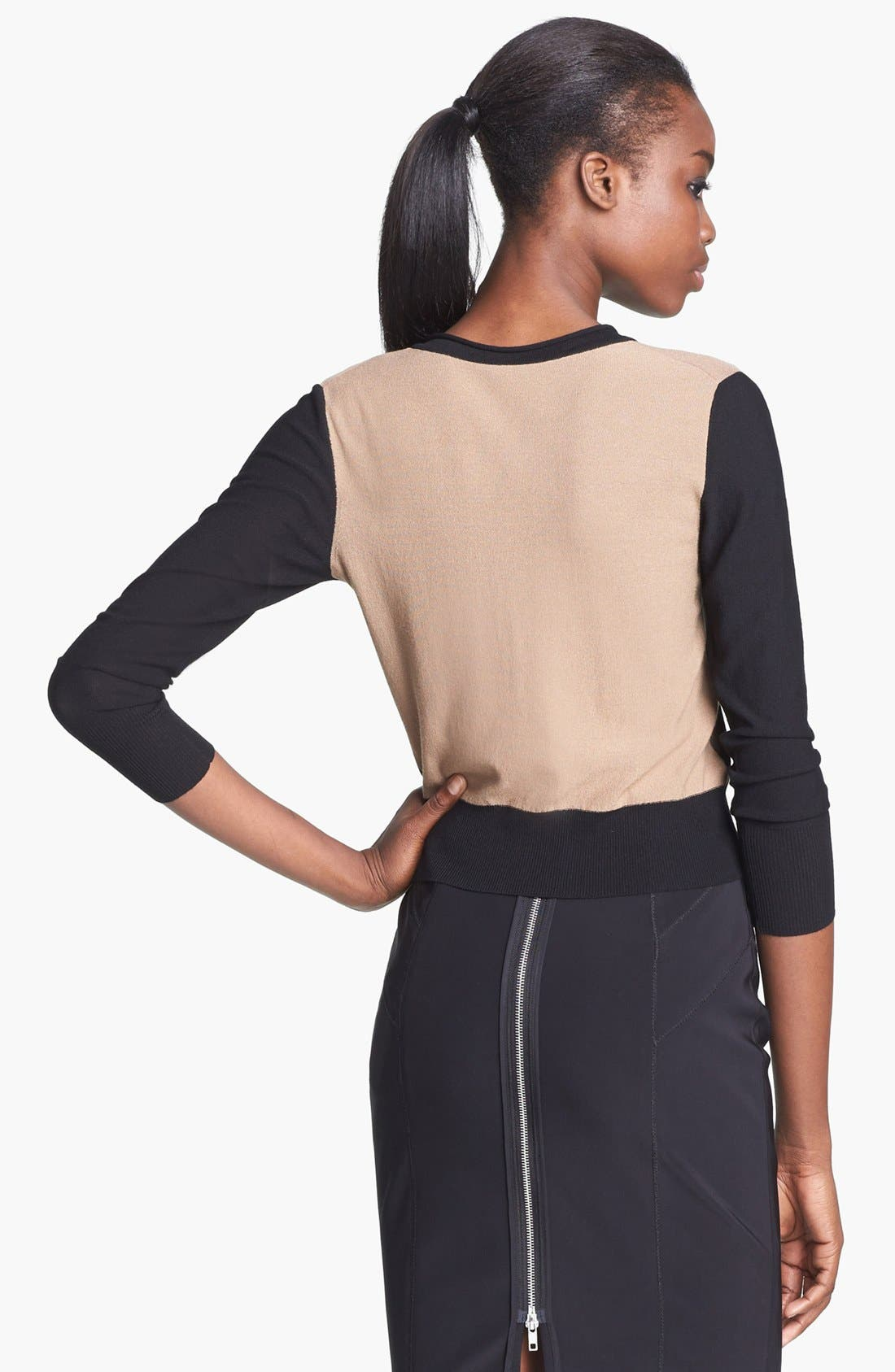 Alternate Image 3  - Tracy Reese Two Tone Cardigan