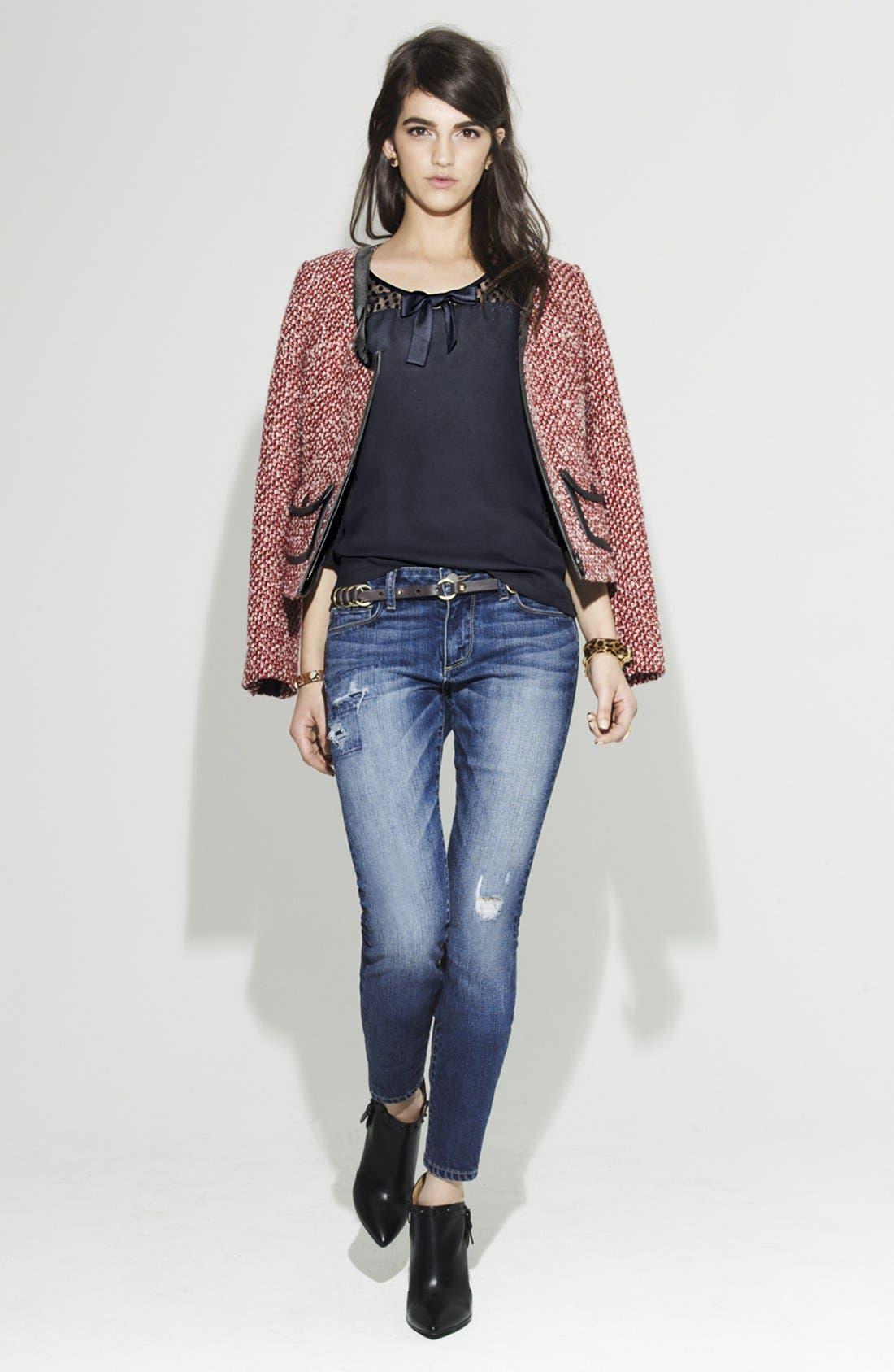Alternate Image 4  - Hinge® Tweed Jacket