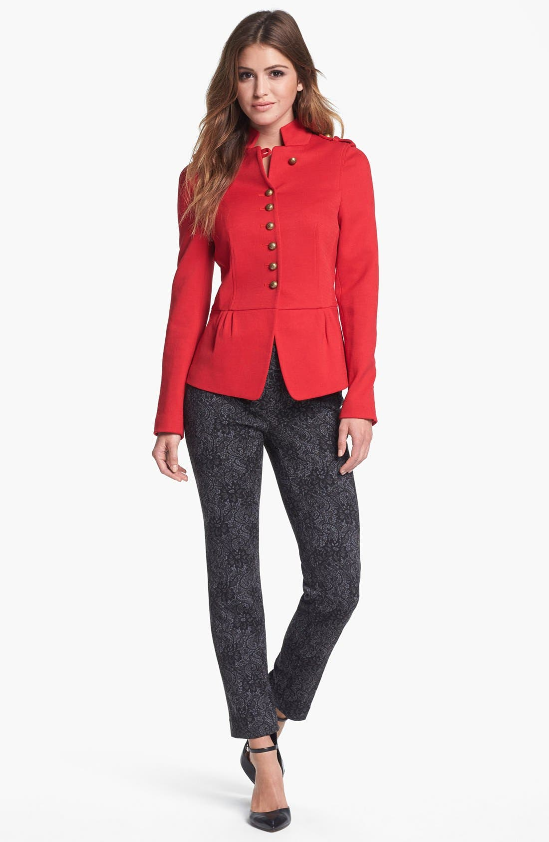 Alternate Image 1 Selected - Vince Camuto Jacket & Jacquard Pants