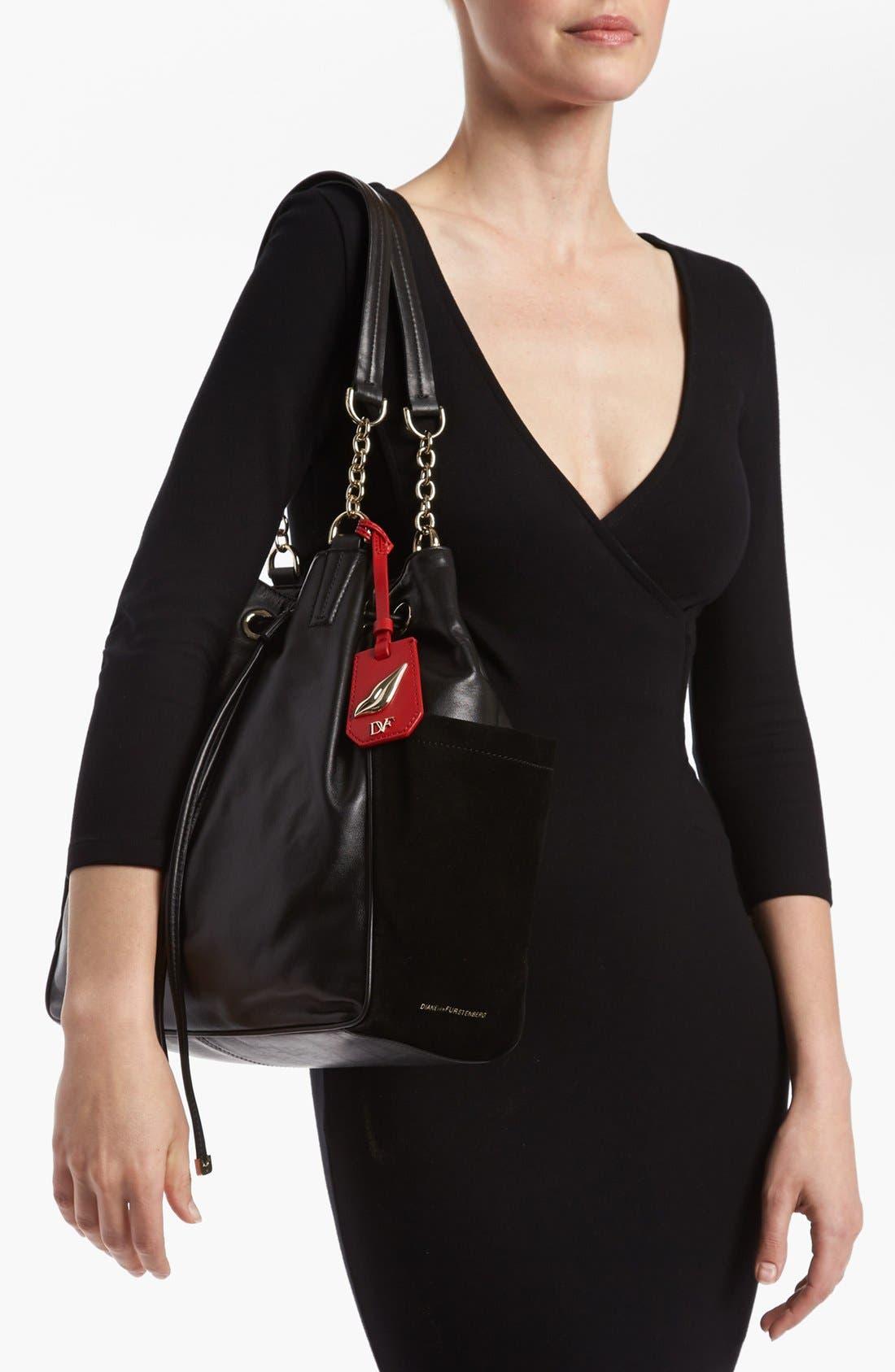 Alternate Image 2  - Diane von Furstenberg 'Sydney' Leather Tote