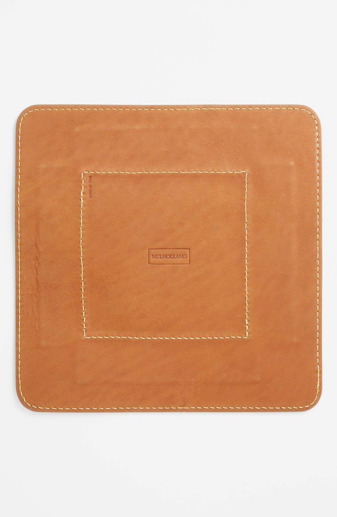 Alternate Image 2  - Mulholland Leather Folding Tray