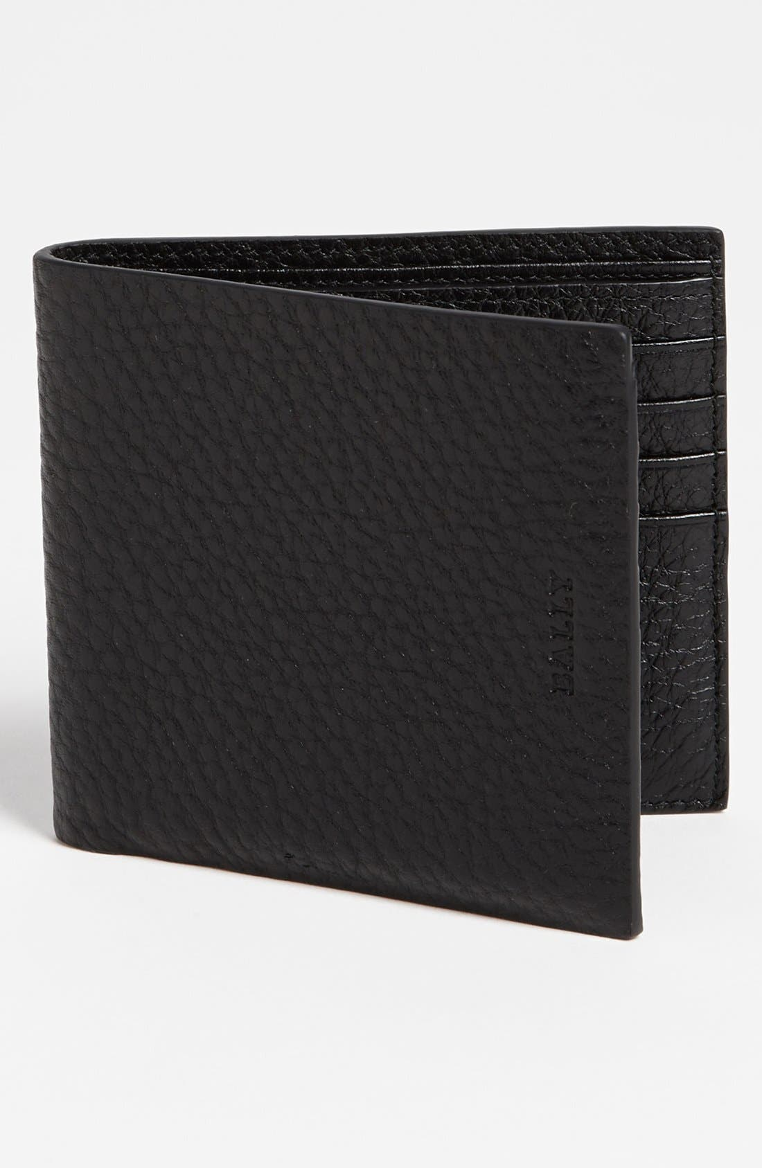 Alternate Image 1 Selected - Bally Bifold Calfskin Wallet