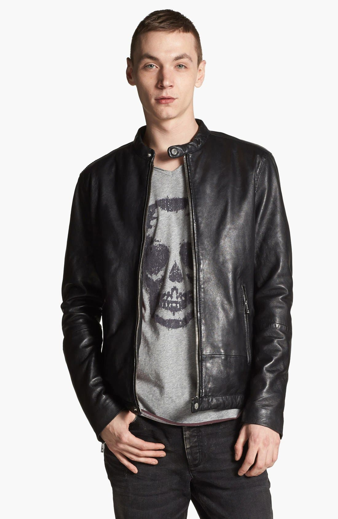 Alternate Image 1 Selected - Zadig & Voltaire Leather Jacket