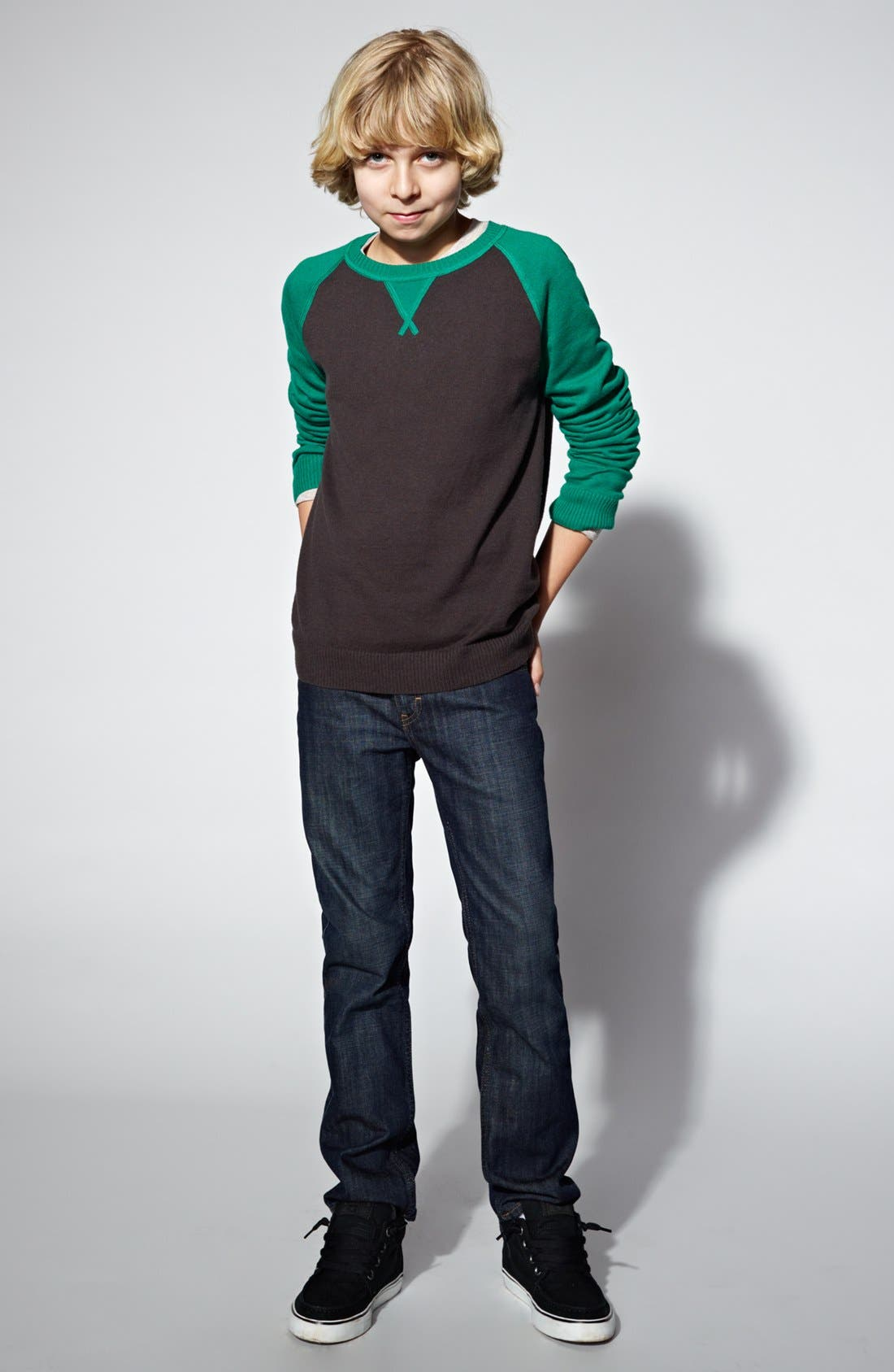 Main Image - Tucker + Tate Sweater & Jeans (Big Boys)
