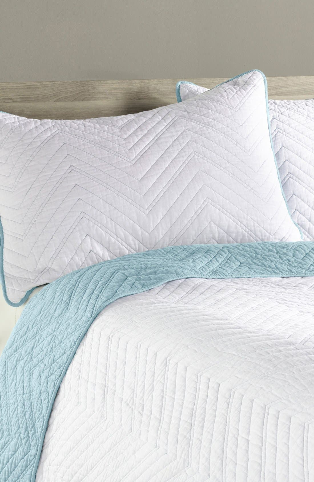 Alternate Image 1 Selected - Levtex 'Chevron' Sham (Nordstrom Exclusive)