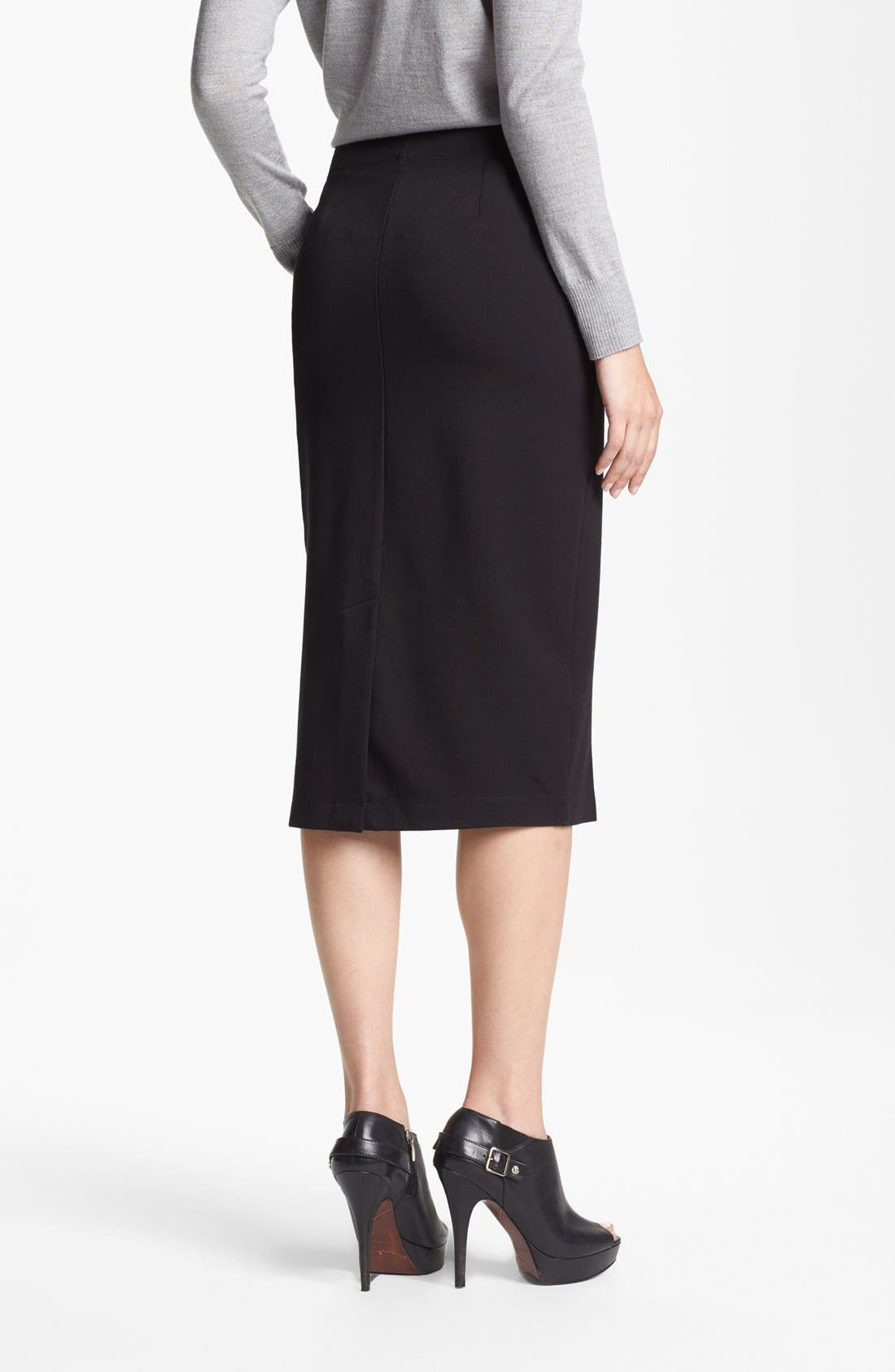 Alternate Image 2  - Eileen Fisher Ponte Skirt