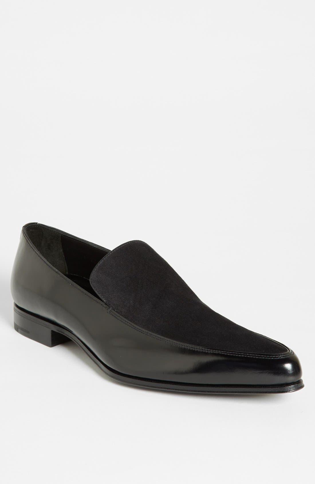 Main Image - Prada Pointed Loafer