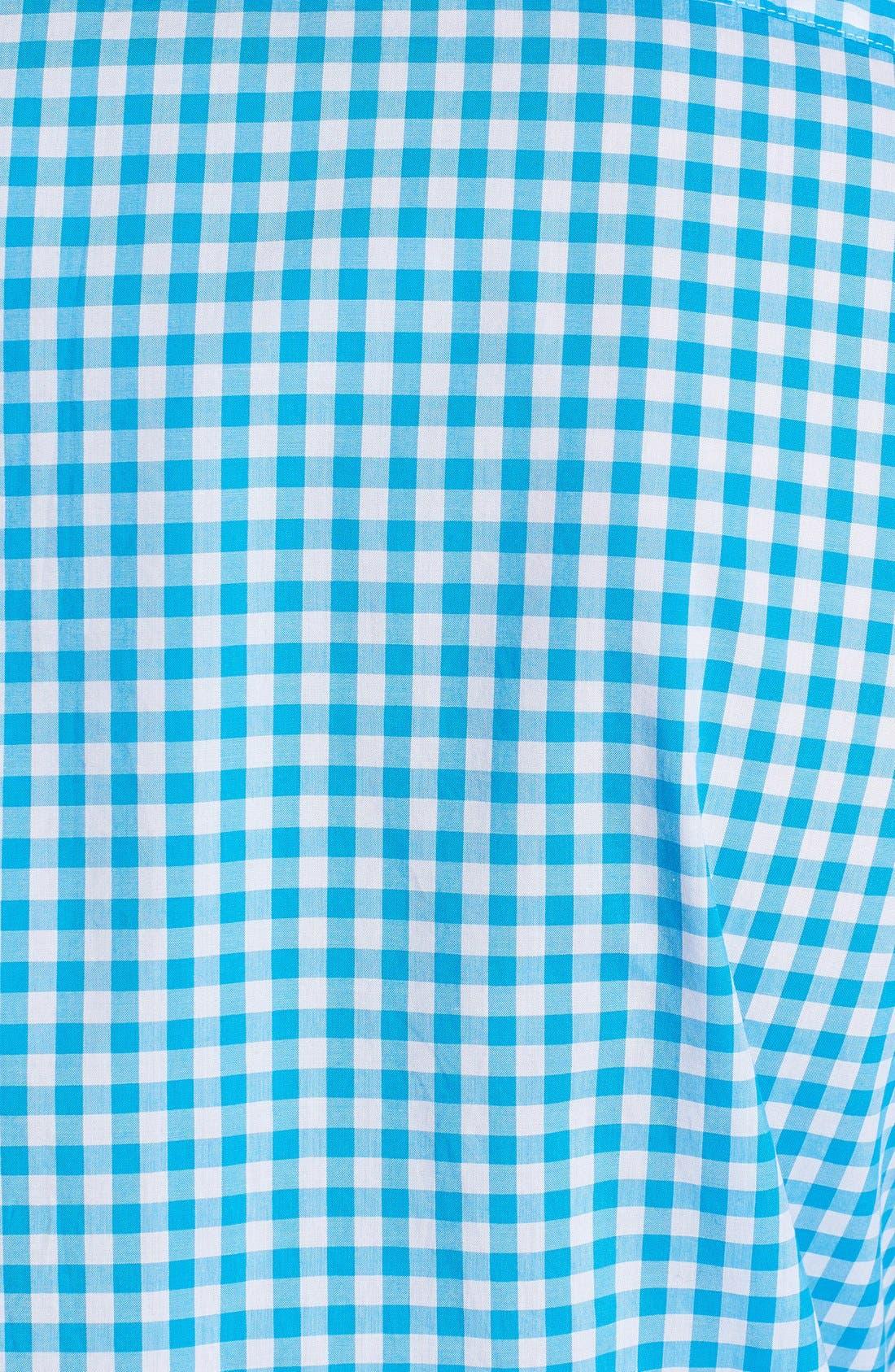 Alternate Image 3  - Burberry Brit 'Adken' Gingham Trim Fit Cotton Sport Shirt