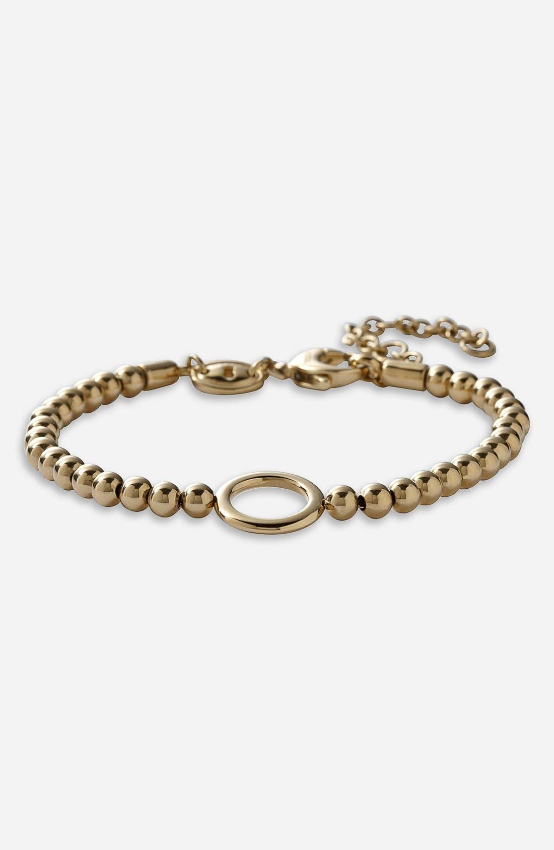 Alternate Image 1 Selected - Fossil Bead Charm Bracelet
