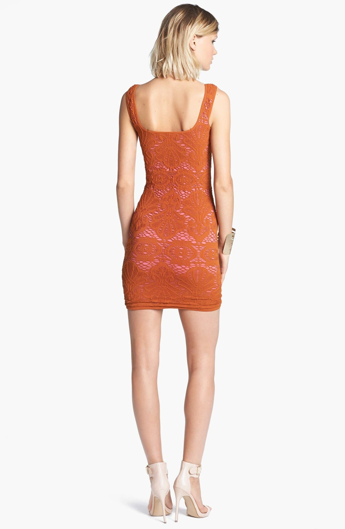 Alternate Image 2  - Free People Stretch Lace Tank Dress