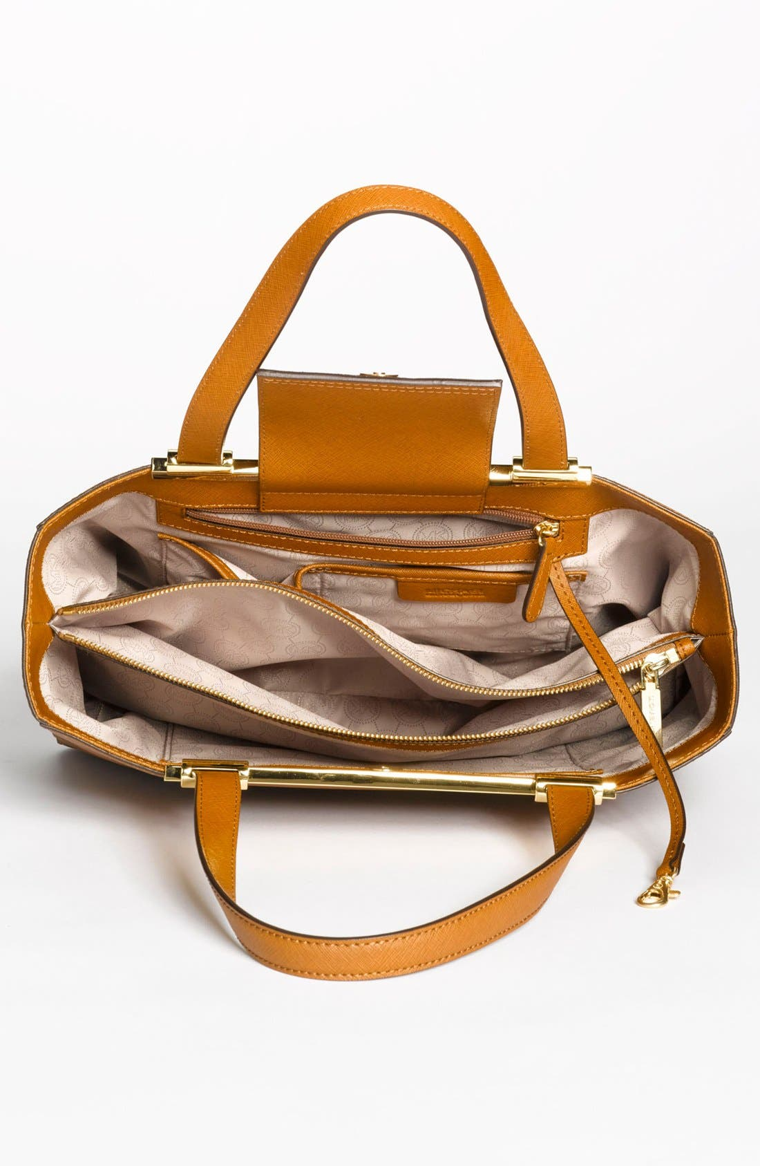 Alternate Image 3  - MICHAEL Michael Kors 'Tilda - Large' Saffiano Leather Tote (Online Only)
