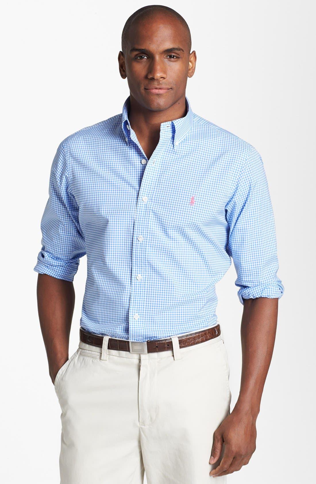 Main Image - Polo Ralph Lauren Custom Fit Sport Shirt