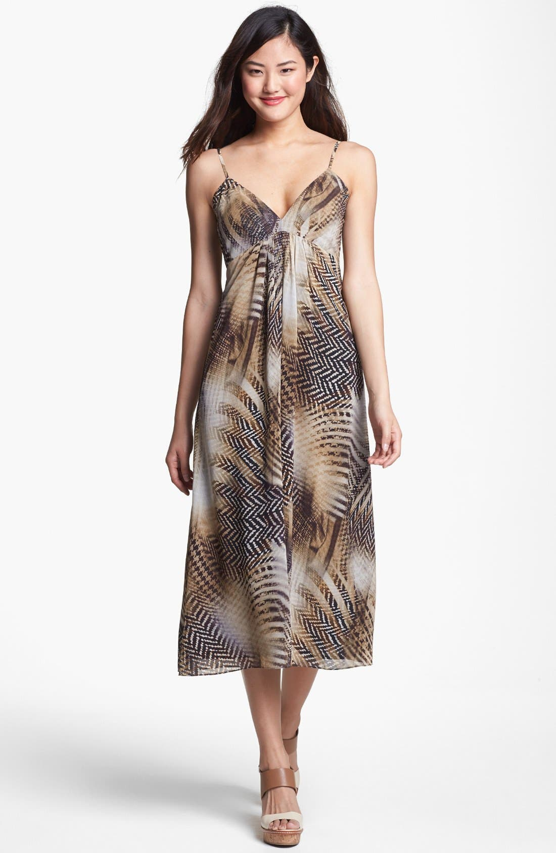 Alternate Image 1 Selected - Vince Camuto Empire Midi Dress