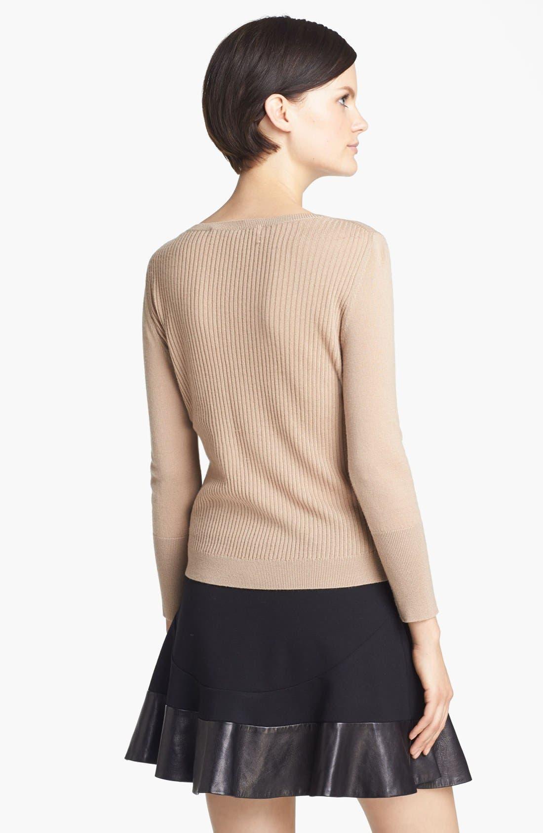 Alternate Image 2  - Diane von Furstenberg 'Shara' Wool Sweater