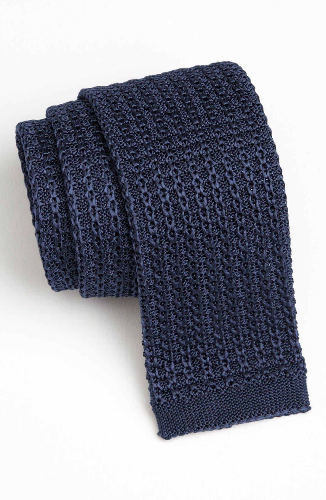 Main Image - John W. Nordstrom® Knit Silk Tie