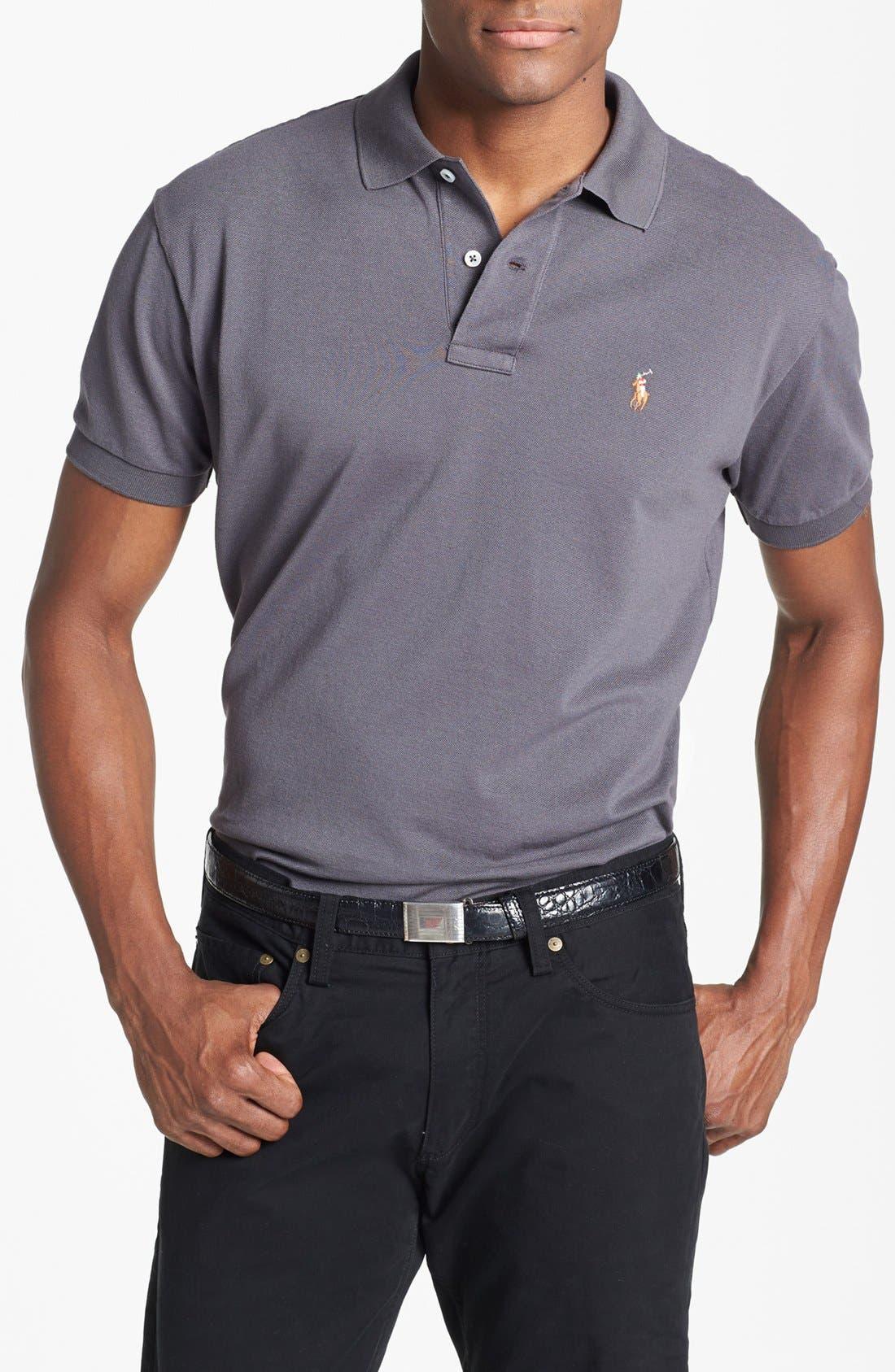Main Image - Polo Ralph Lauren Classic Fit Piqué Cotton Polo