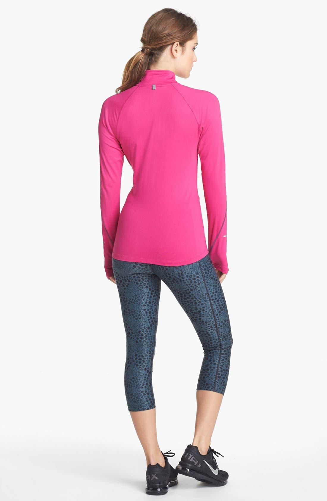 Alternate Image 4  - Nike 'Legend 2.0 Tight Poly' Print Capri Leggings