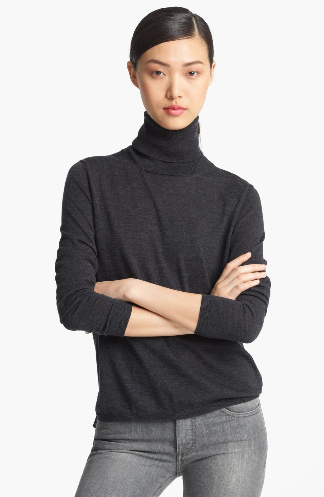 Main Image - Max Mara Lightweight Wool Turtleneck