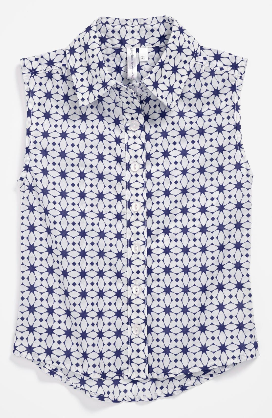 Main Image - gingham by Sovereign Code 'Emma' Sleeveless Top (Toddler Girls)