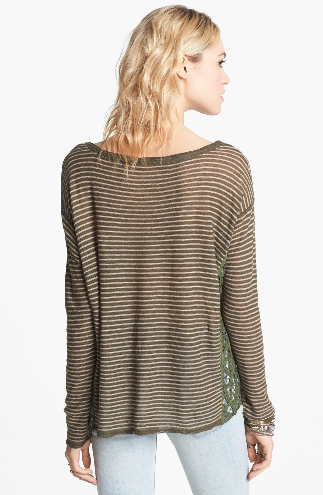 Alternate Image 2  - Free People 'Love Me Do' Stripe Pullover