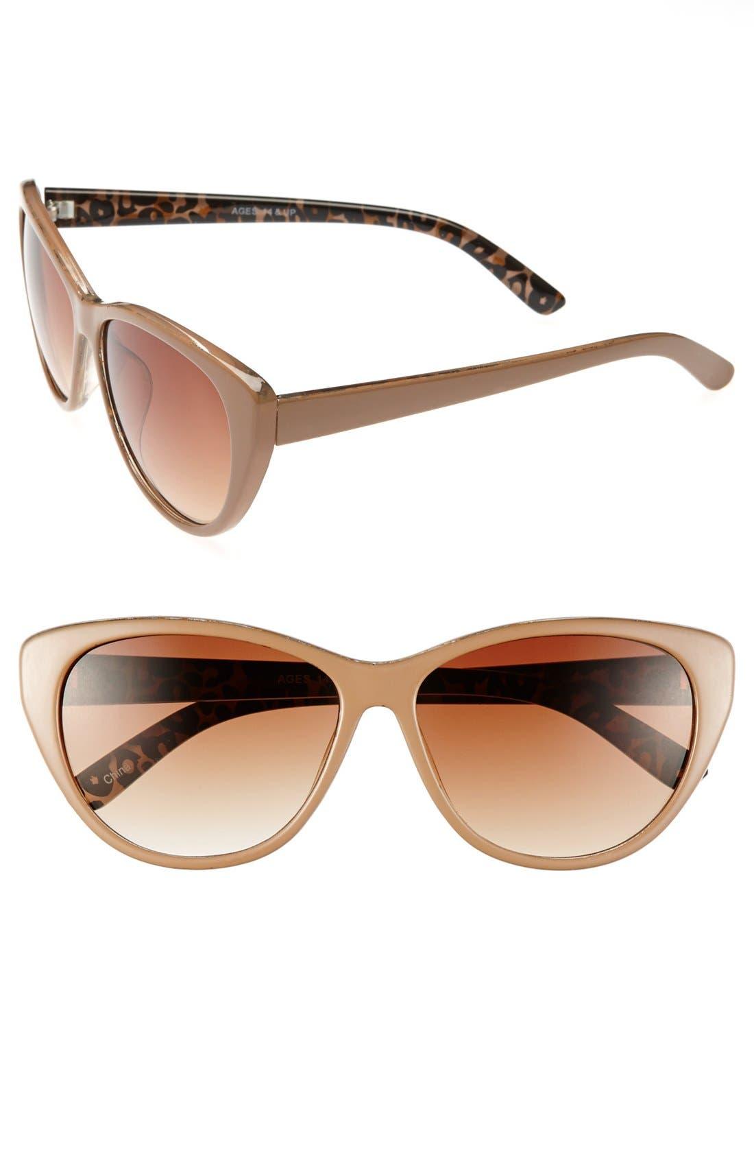 Main Image - FE NY 'Hialeah' 58mm Sunglasses