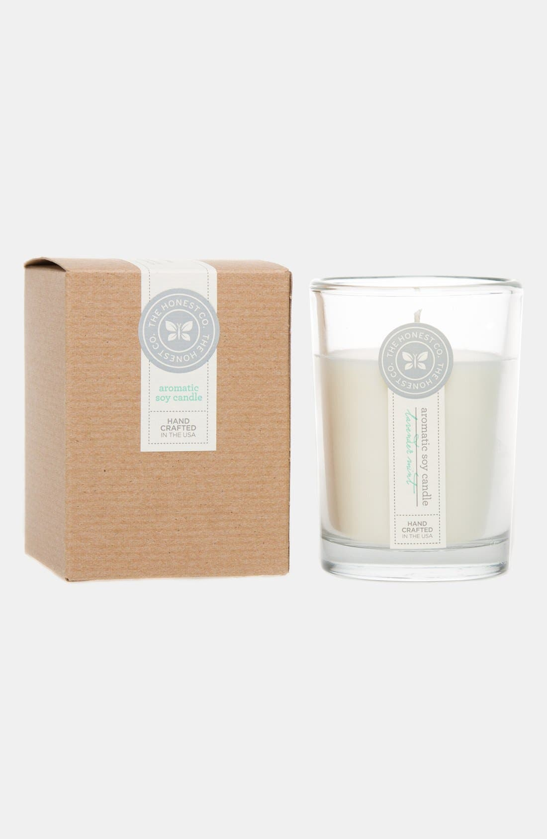Alternate Image 2  - The Honest Company 'Lavender Mint' Aromatic Soy Candle