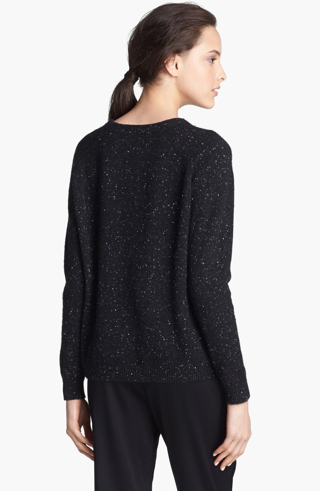 Alternate Image 2  - Alexander Wang Donegal Tweed Knit Sweater