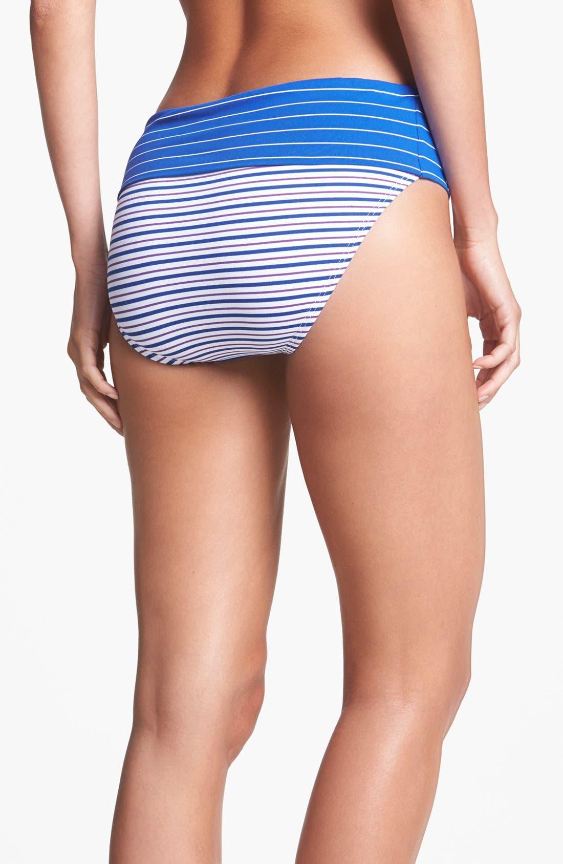 Alternate Image 2  - Tommy Bahama 'Mingling' High Waist Bikini Bottoms