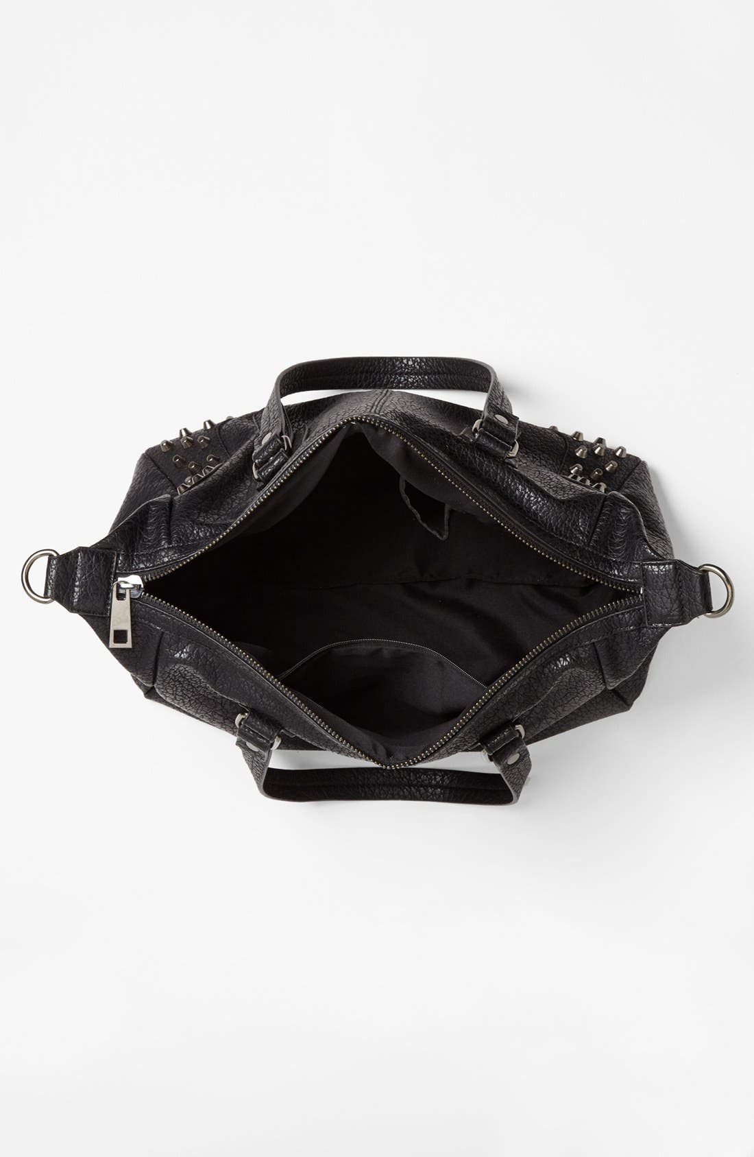 Alternate Image 3  - Cesca 'Large' Studded Crossbody Bag (Juniors)