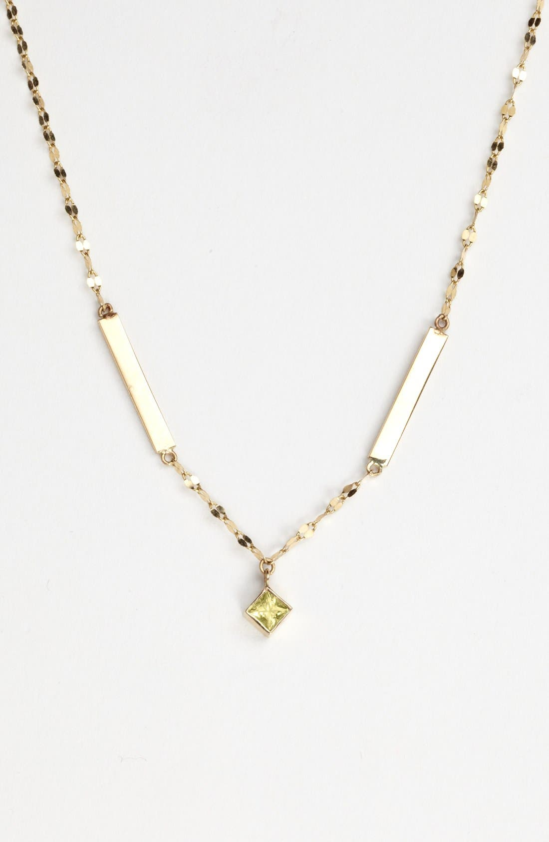 Main Image - Lana Jewelry Sapphire & Bar Necklace