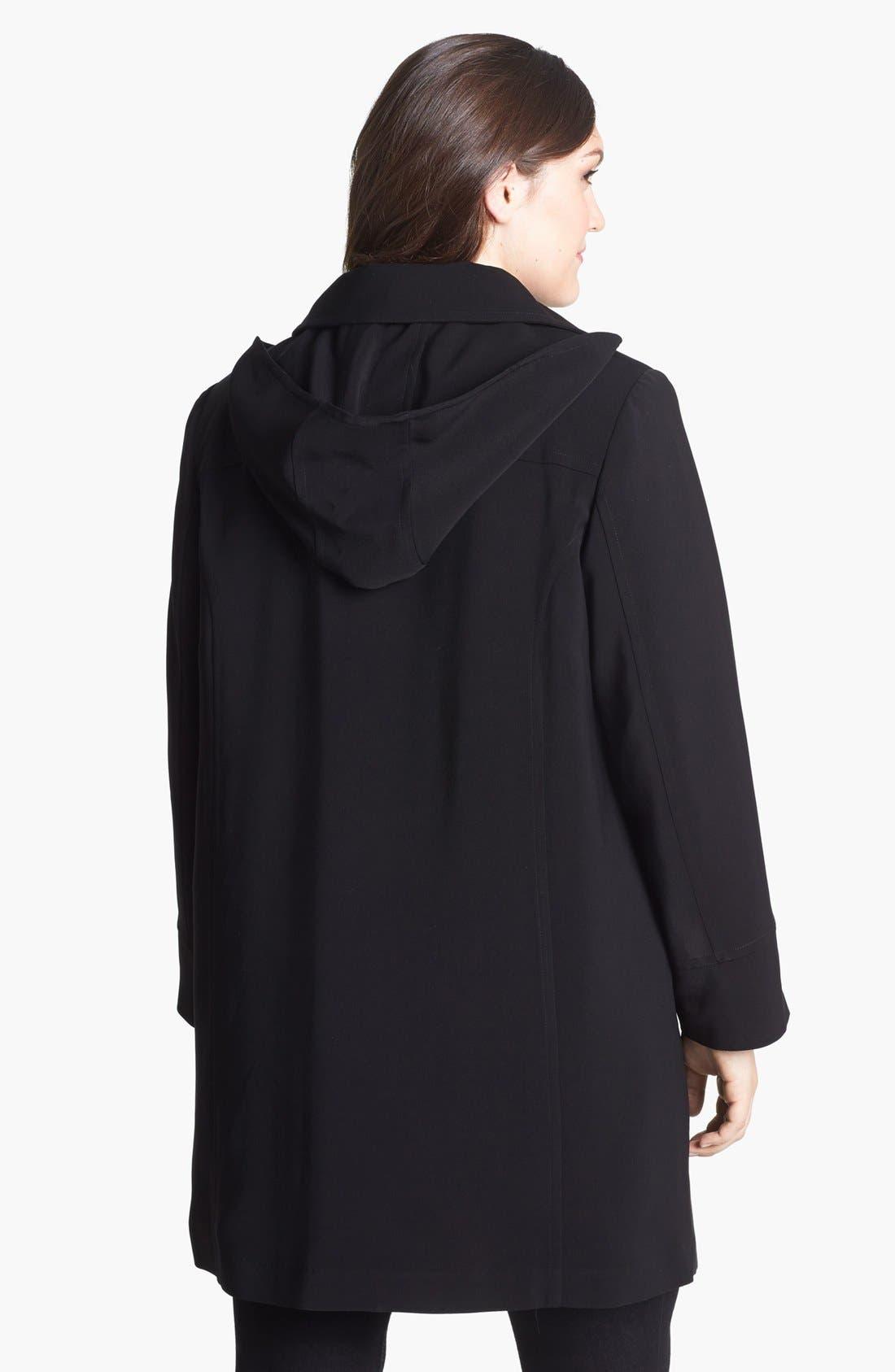 Alternate Image 2  - Gallery 'Napage' Raincoat (Plus Size)
