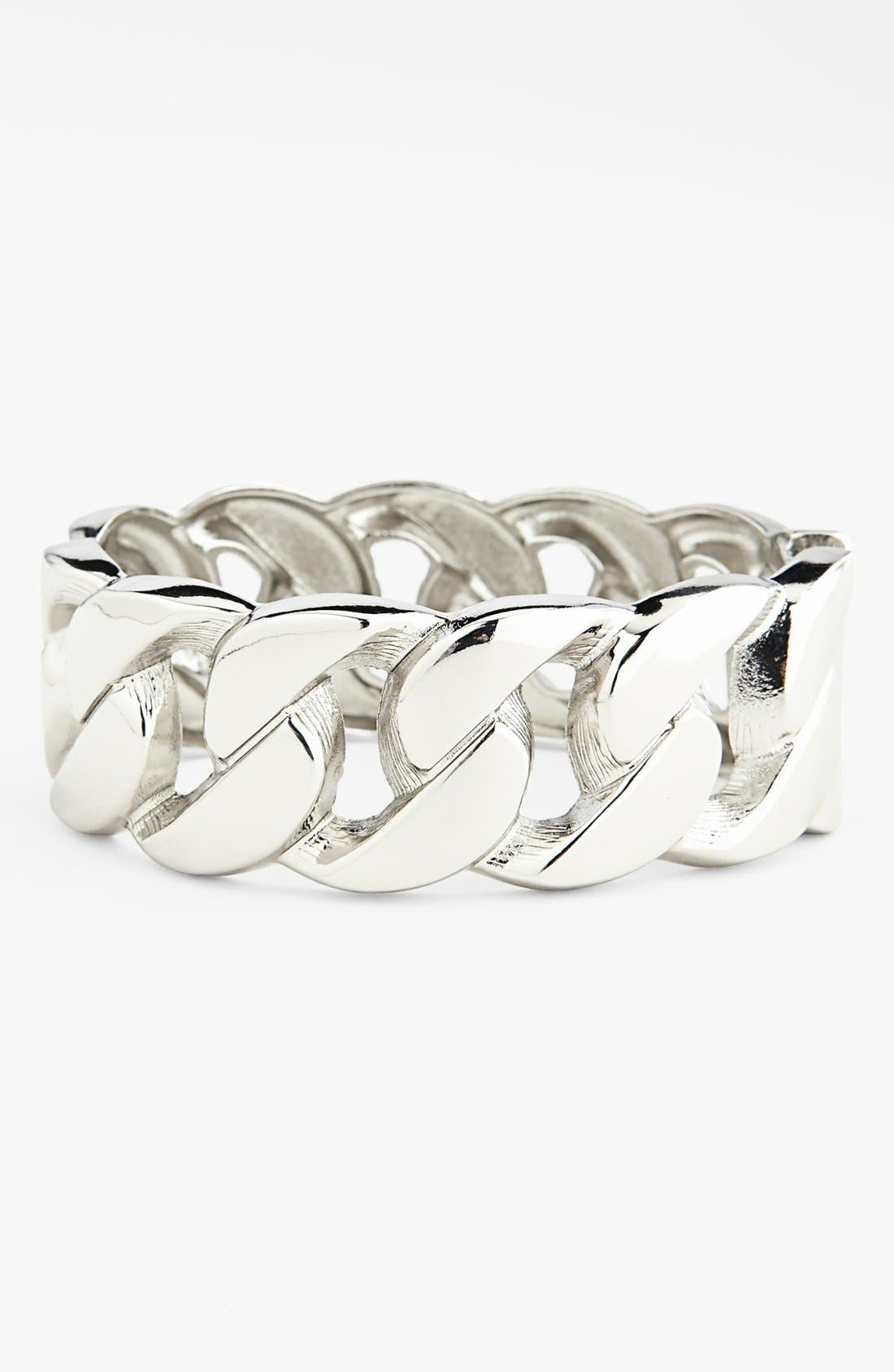 Main Image - Topshop Curb Chain Bracelet