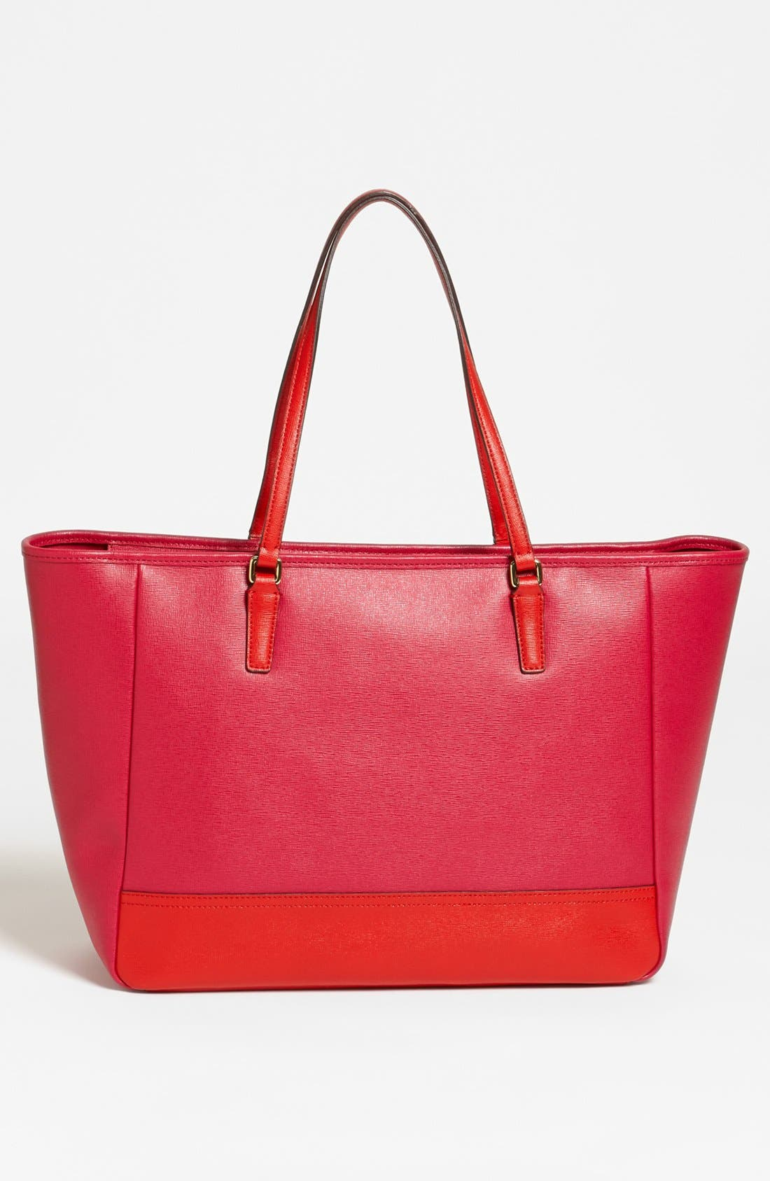 Alternate Image 2  - COACH 'Colorblock - Medium' Leather Tote