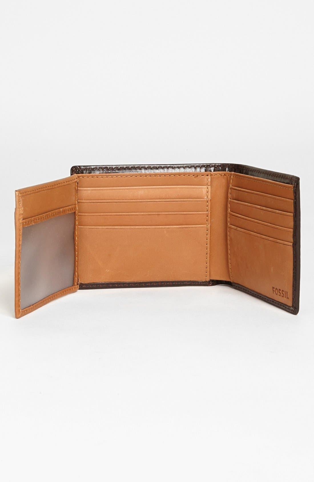 Alternate Image 2  - Fossil 'Keaton' Traveler Wallet