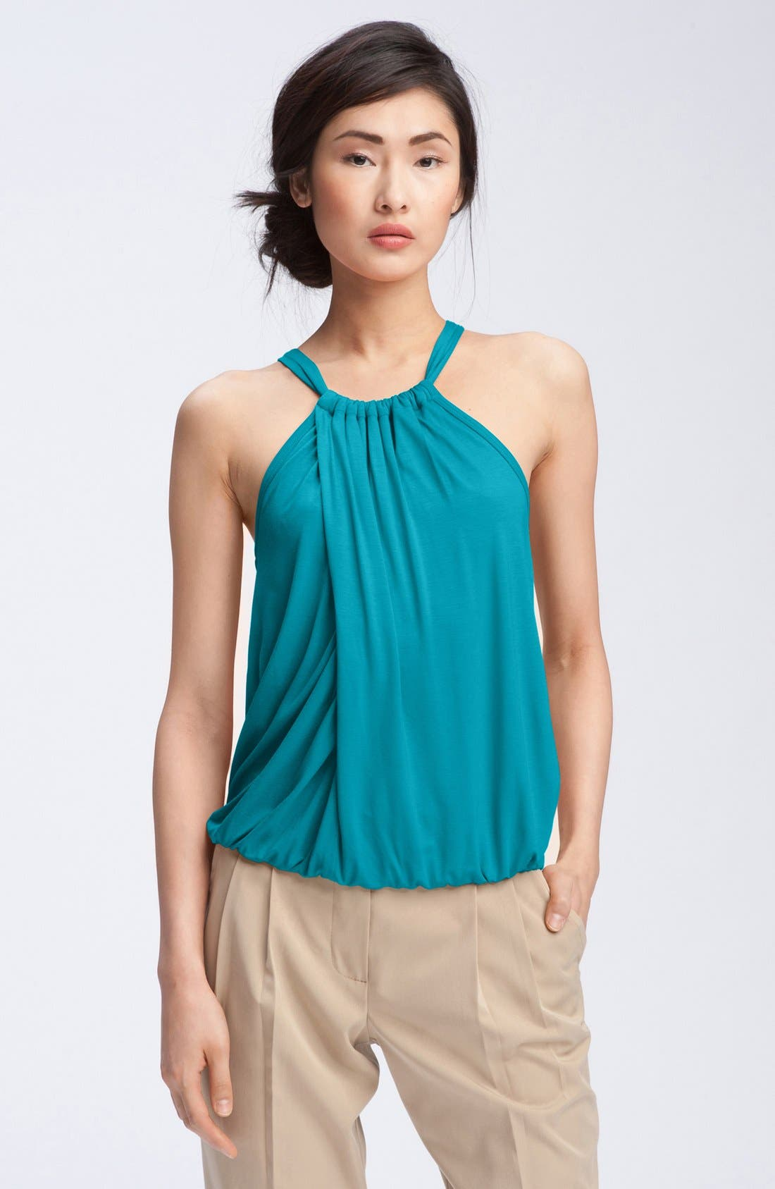 Main Image - Trina Turk 'Imma' Draped Halter Top