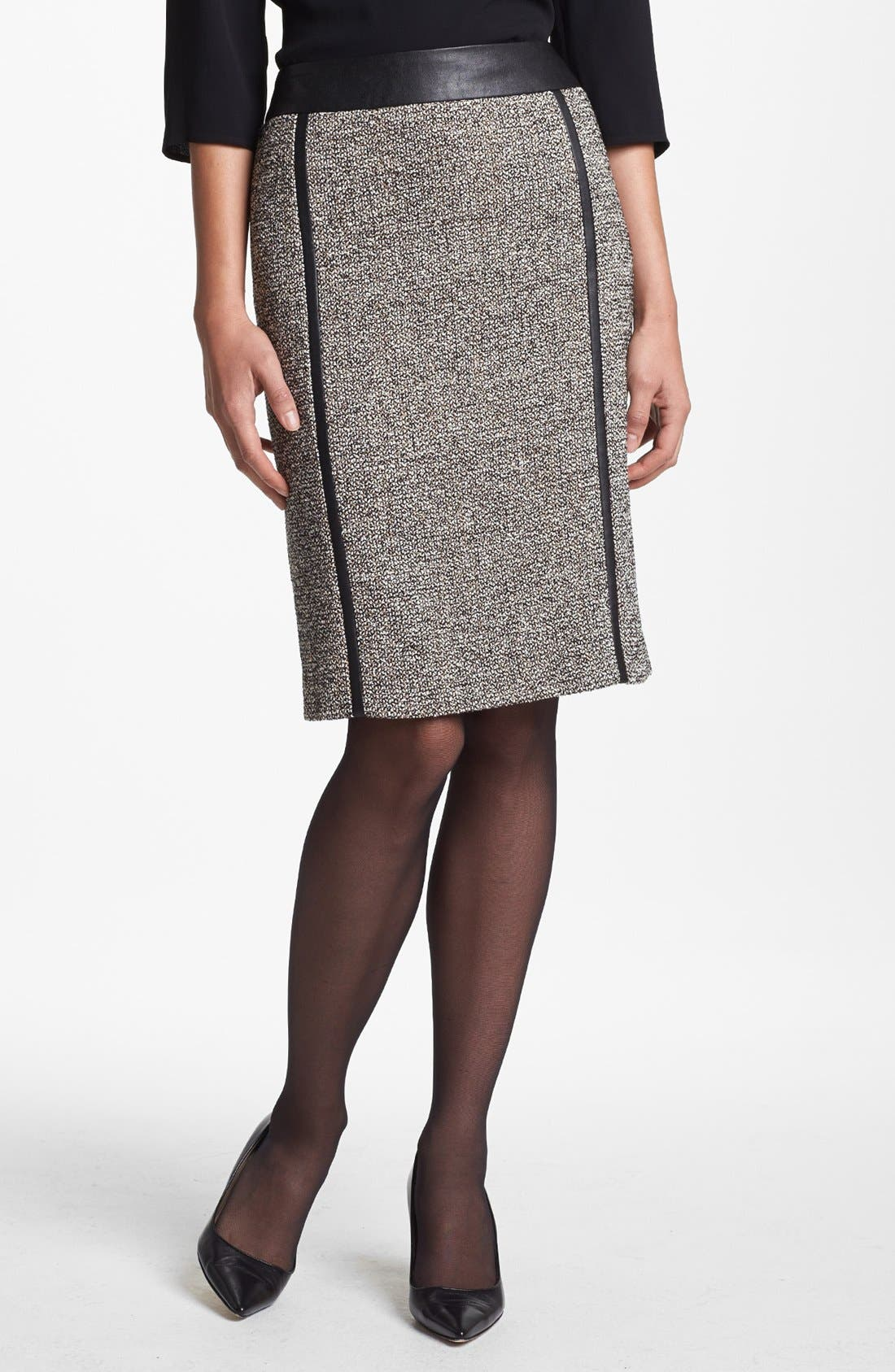 Alternate Image 1 Selected - BOSS HUGO BOSS 'Vellisa' Skirt