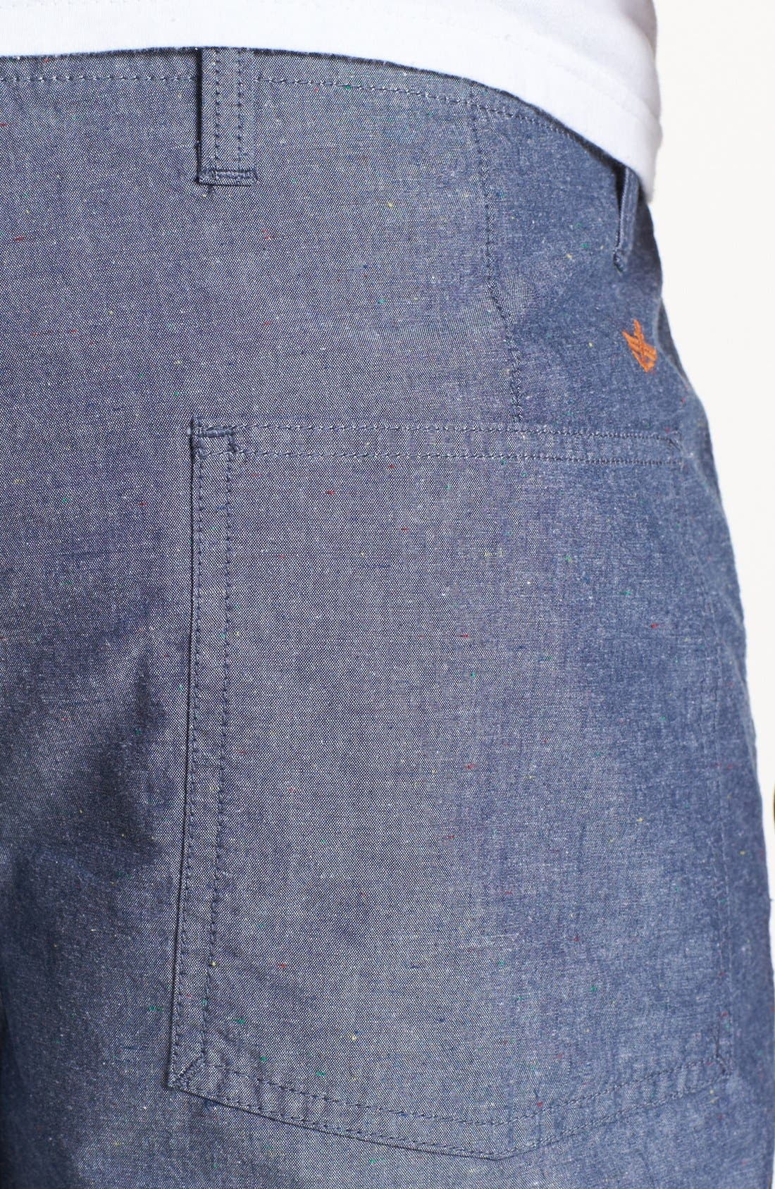 Alternate Image 4  - Dockers® Reversible Flat Front Shorts