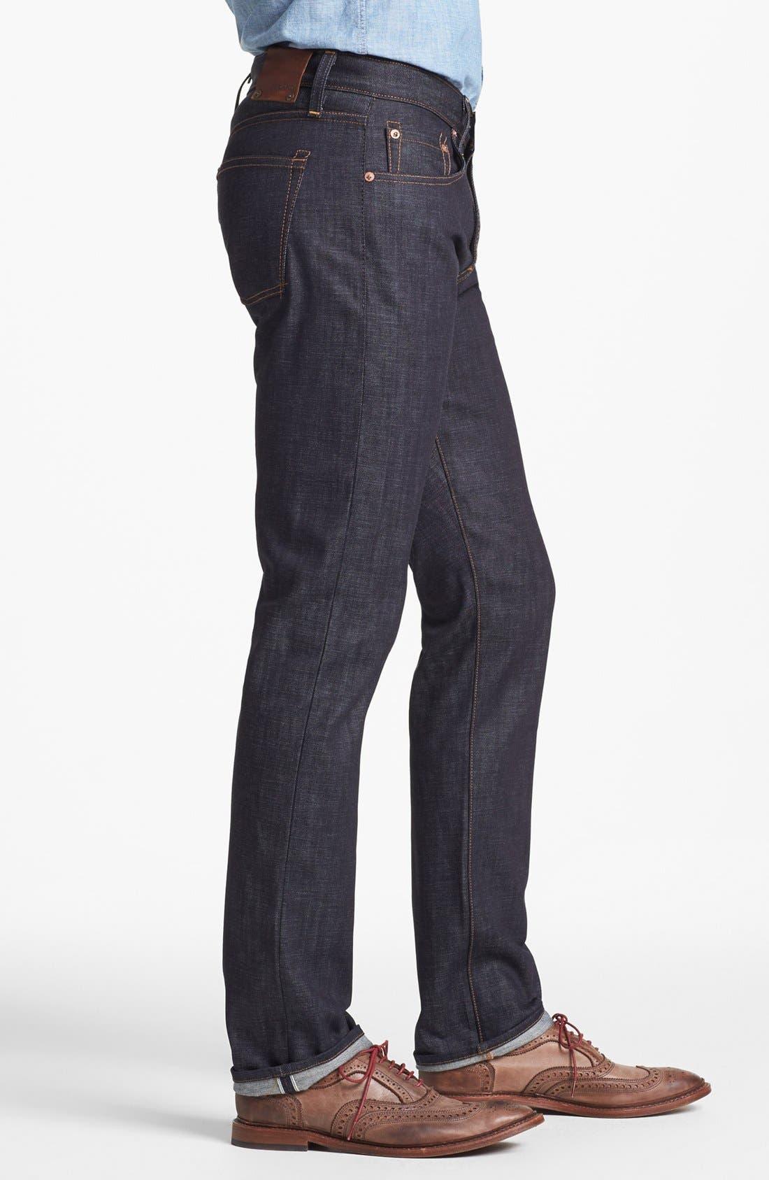 Alternate Image 3  - J Brand 'Tyler' Slim Fit Jeans (Raw Selvedge)
