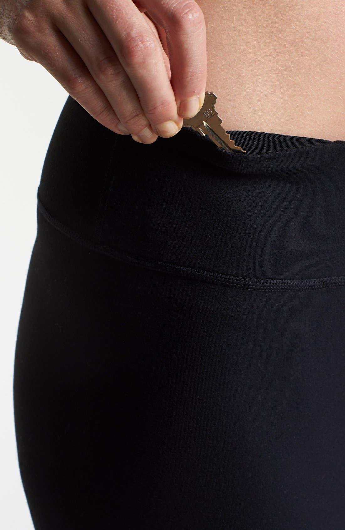 Alternate Image 3  - Zella 'Barely Flare Booty' Pants