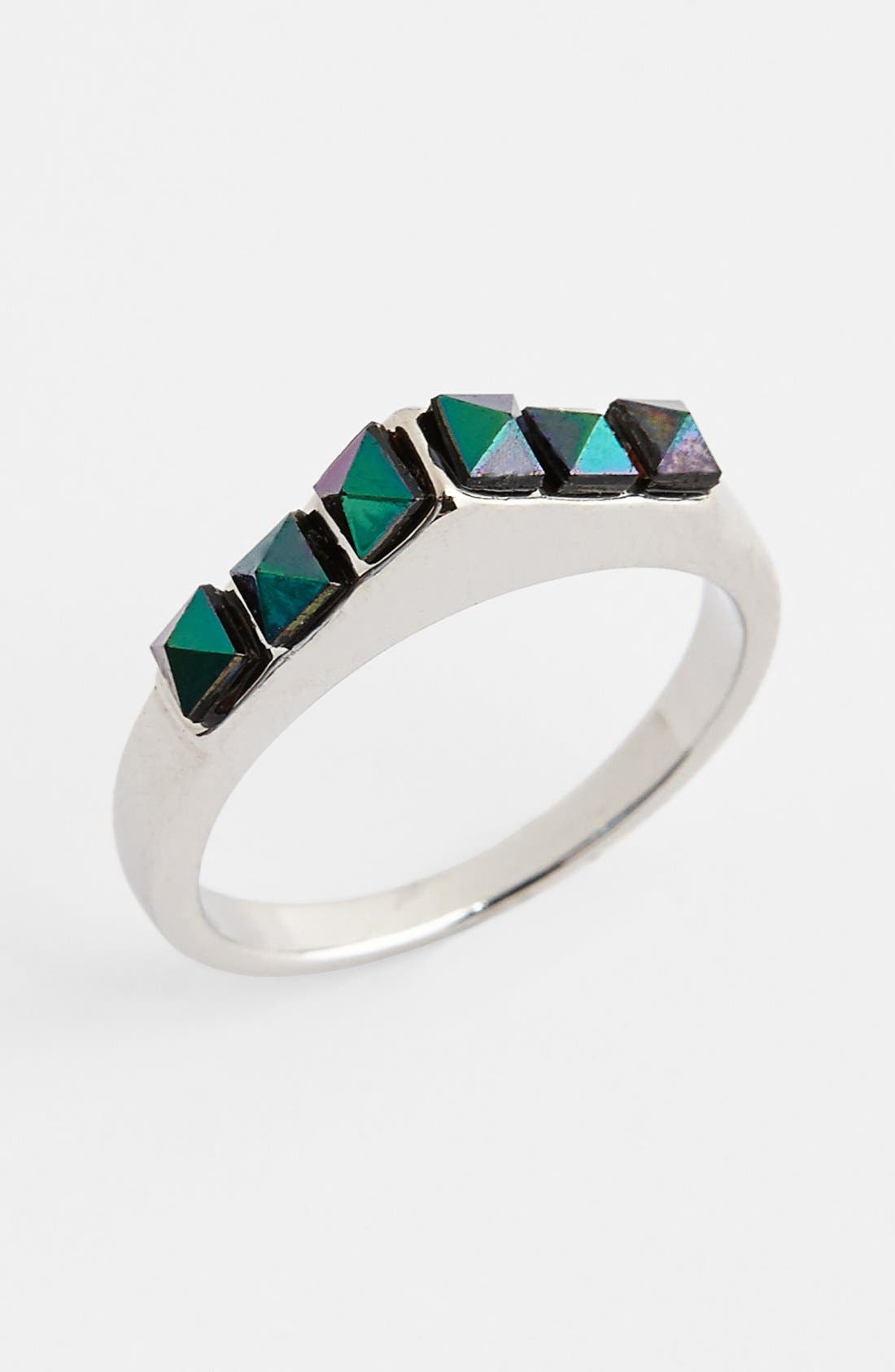 Main Image - Topshop Pointed Stone Ring