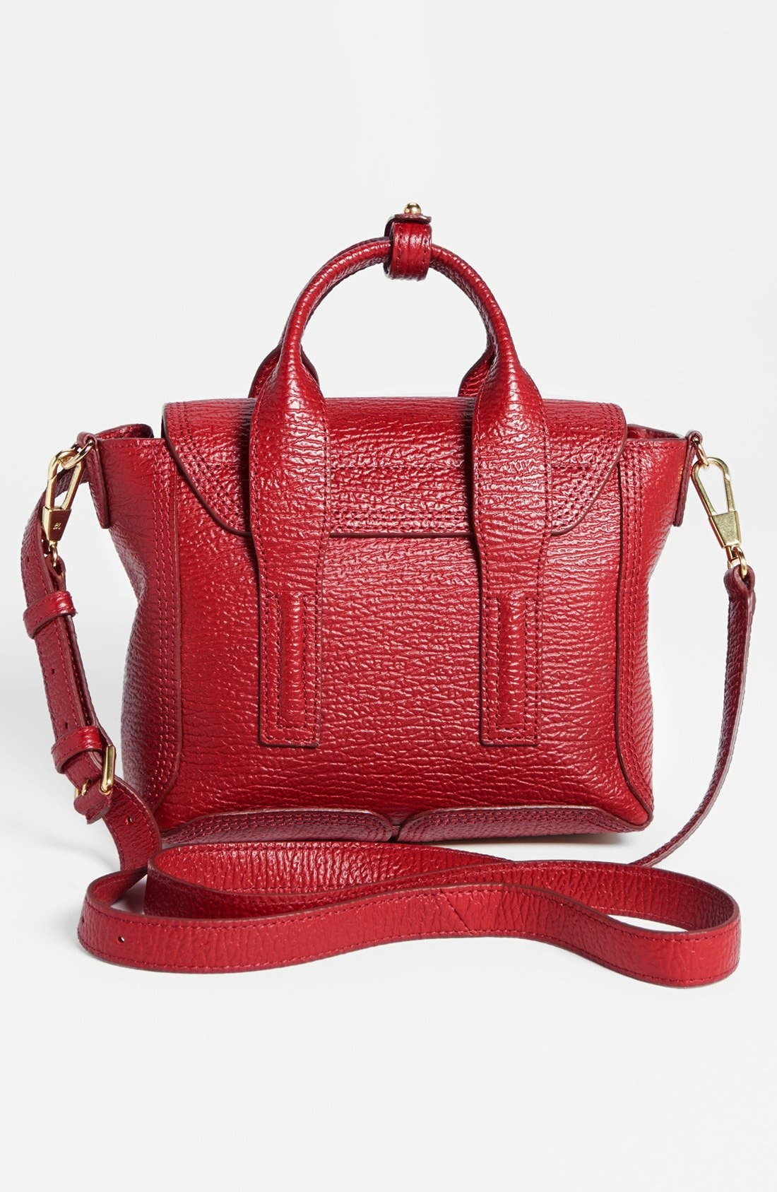 Alternate Image 3  - 3.1 Phillip Lim 'Mini Pashli' Shark Embossed Leather Satchel