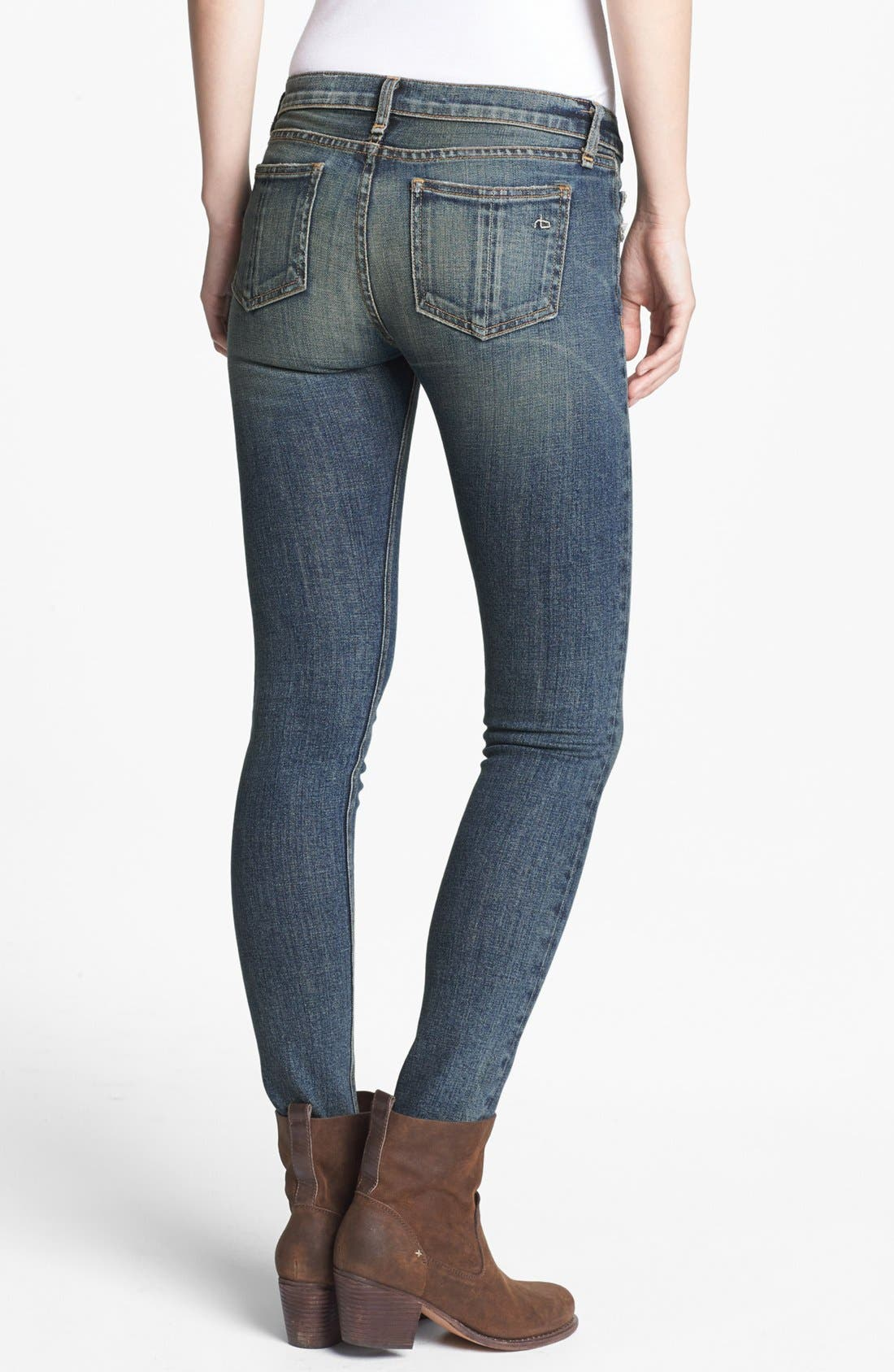 Alternate Image 2  - rag & bone/JEAN Skinny Stretch Jeans