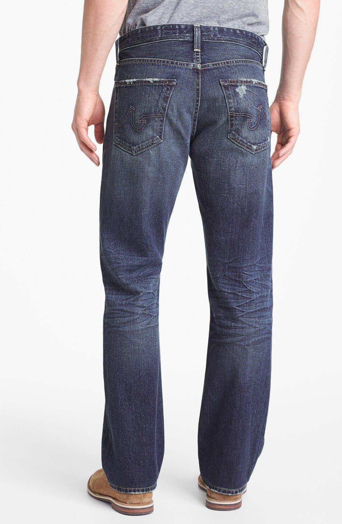 Alternate Image 2  - AG 'Protégé' Straight Leg Jeans (17-Years Original)
