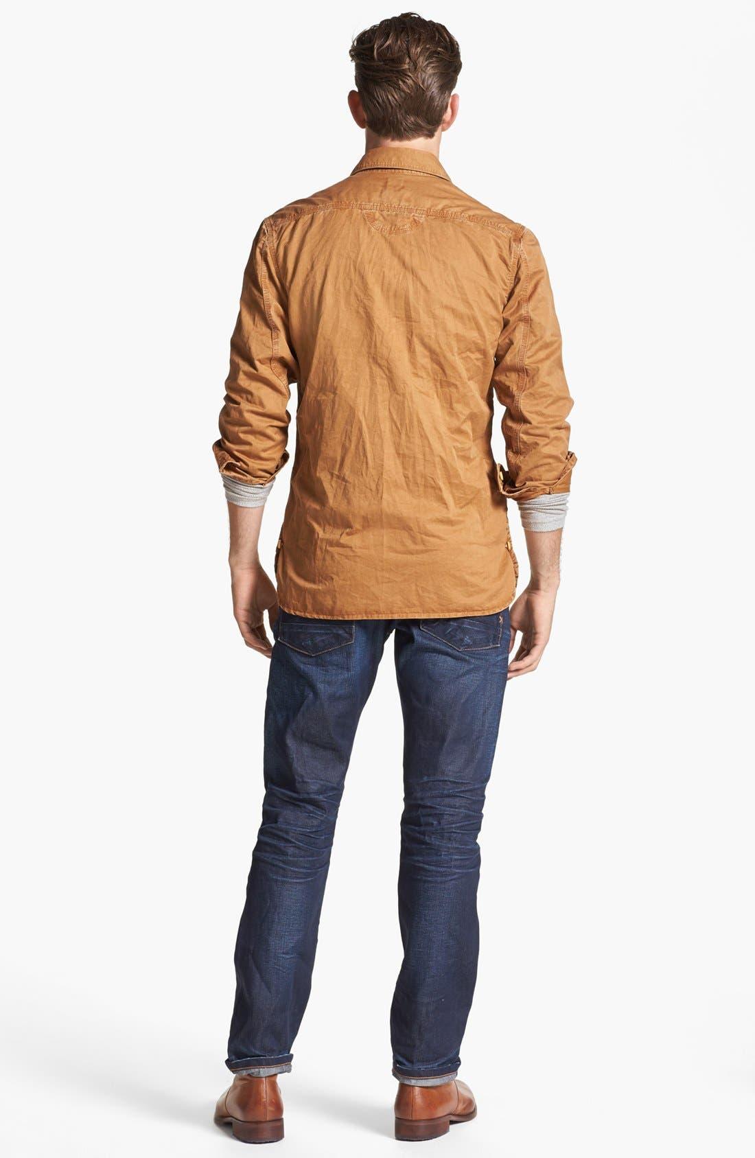 Alternate Image 5  - PRPS Cotton Woven Shirt