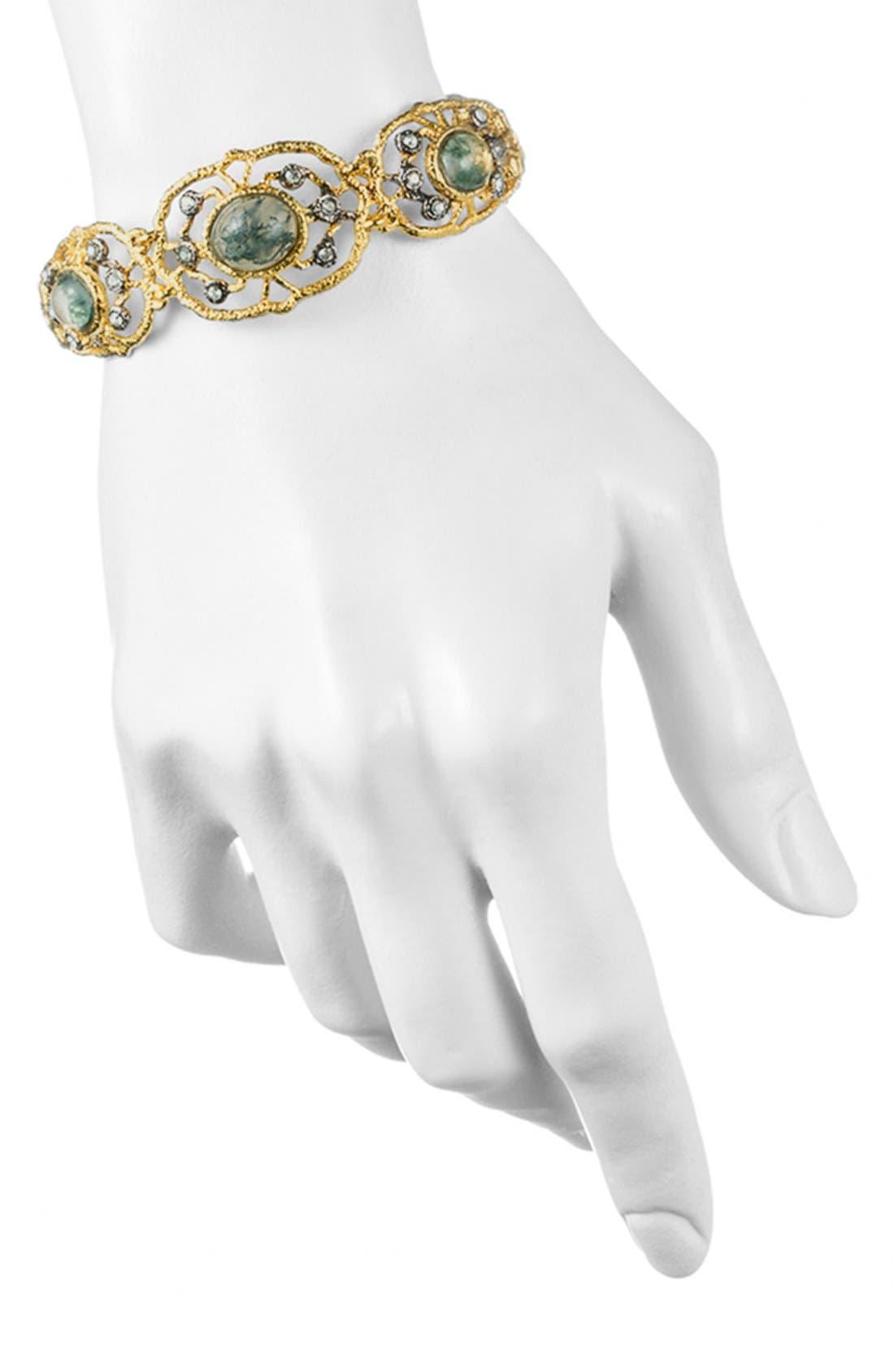 Alternate Image 3  - Alexis Bittar 'Elements - Jardin de Papillon' Hinged Bracelet