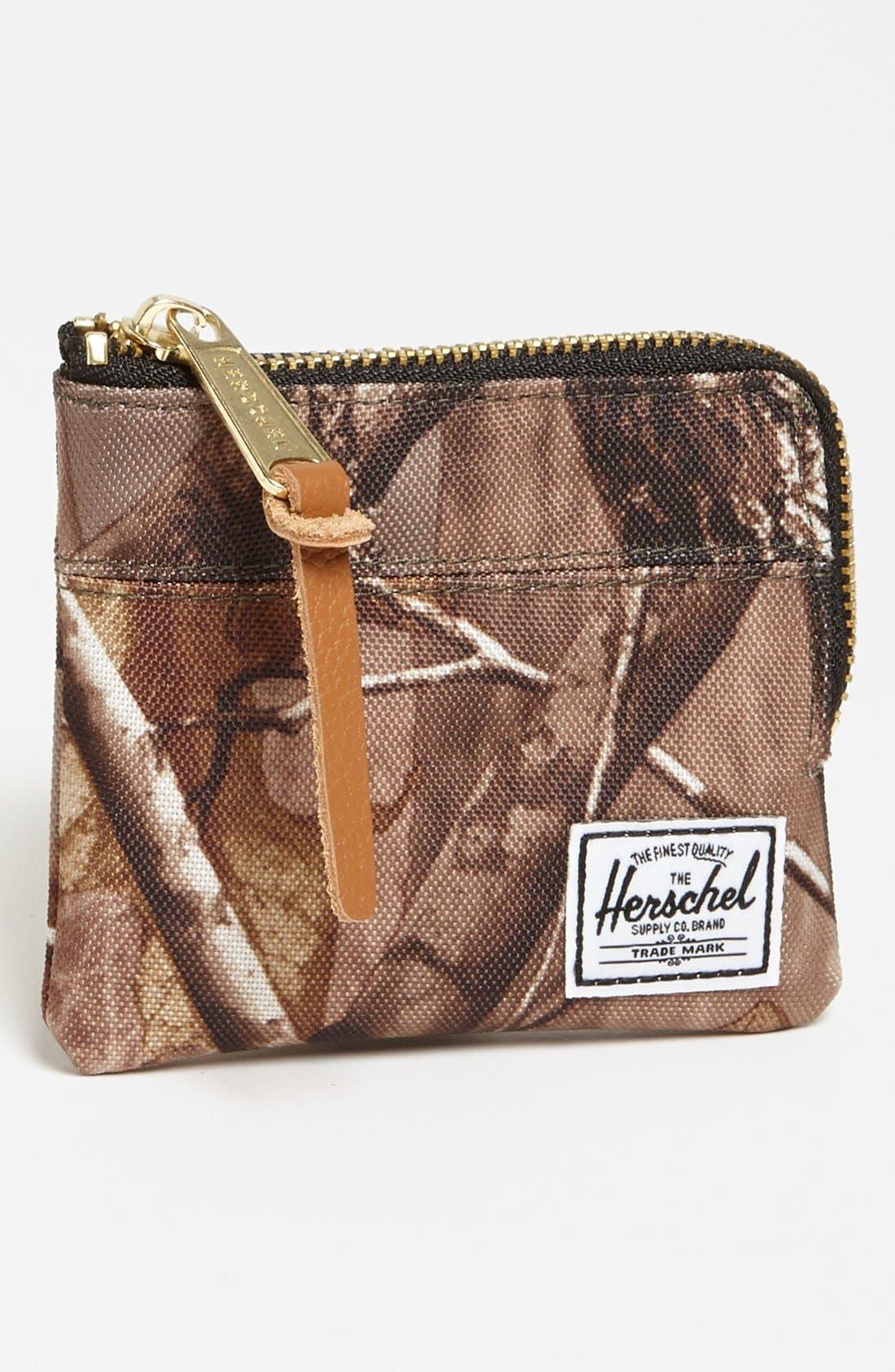 Alternate Image 1 Selected - Herschel Supply Co. 'Johnny' Zip Wallet