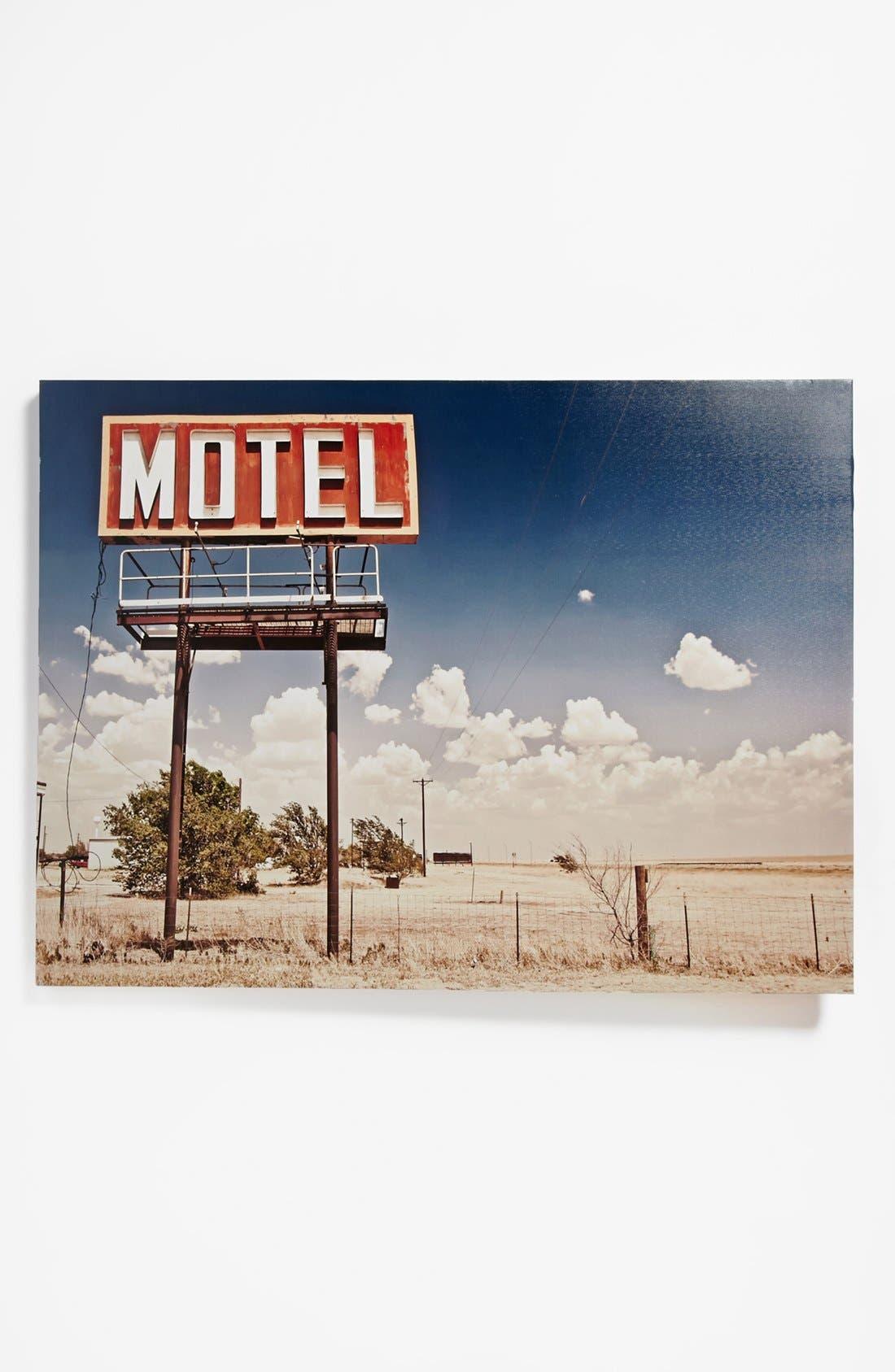 Alternate Image 1 Selected - Vintage Motel Sign Wall Art