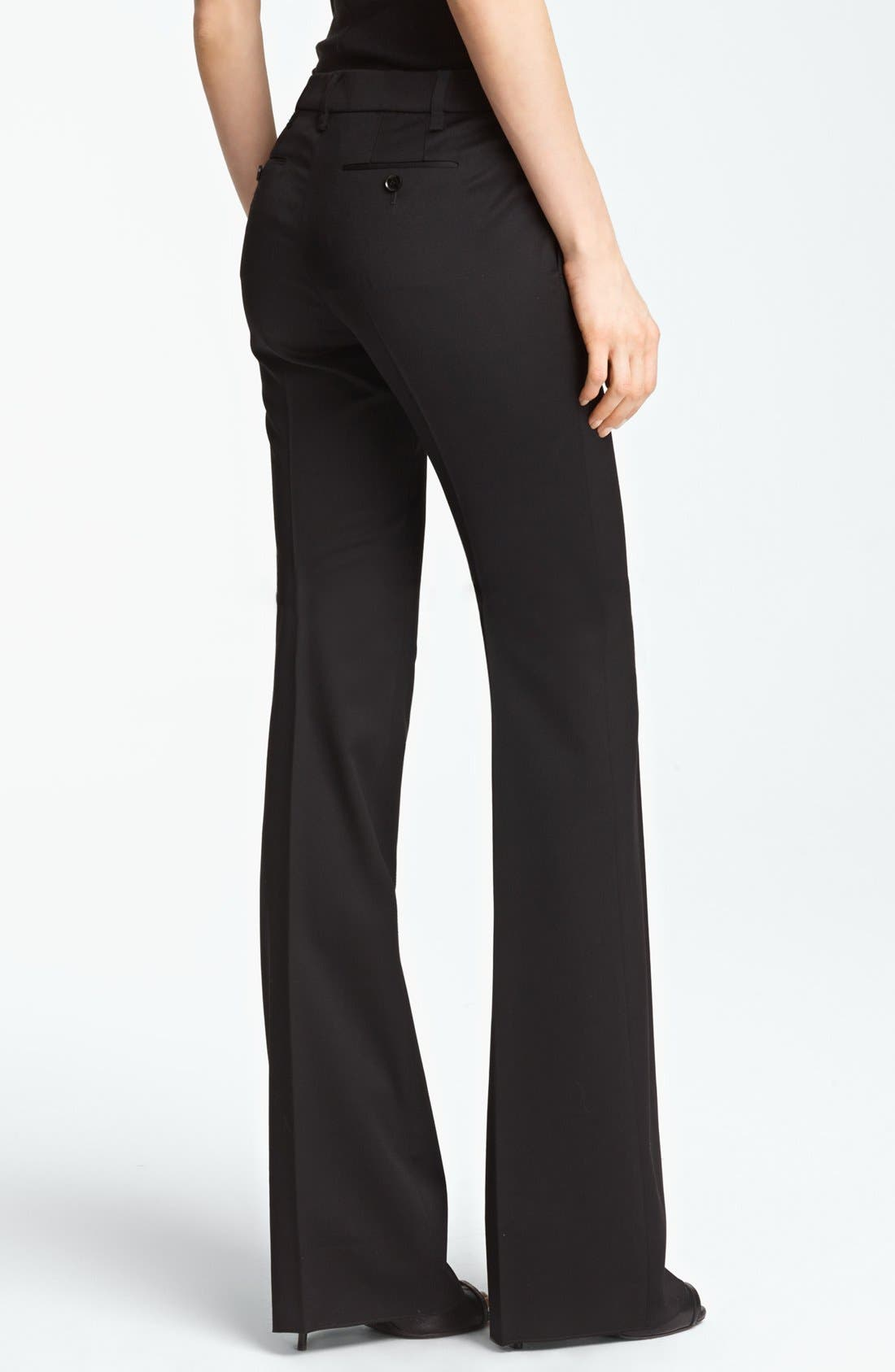 Alternate Image 3  - Burberry Prorsum Tailored Stretch Wool Pants