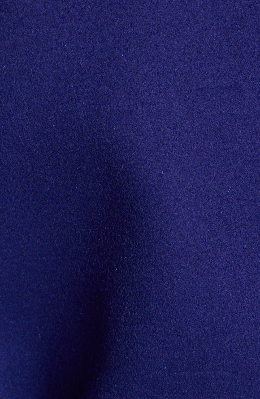 Alternate Image 5  - Diane von Furstenberg 'Logan' Colorblock Overcoat