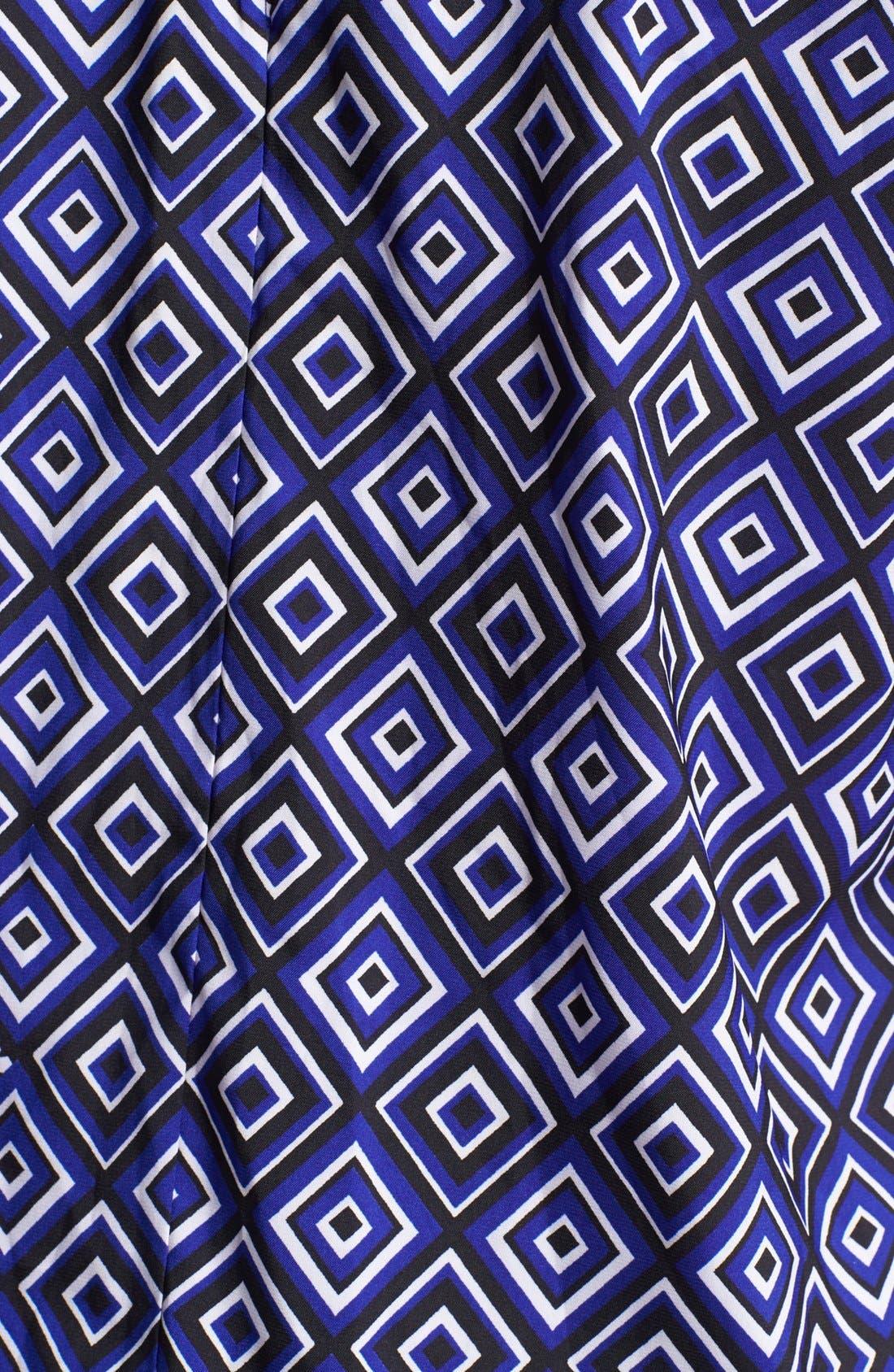 Alternate Image 3  - Vince Camuto Embellished Neck Print Top